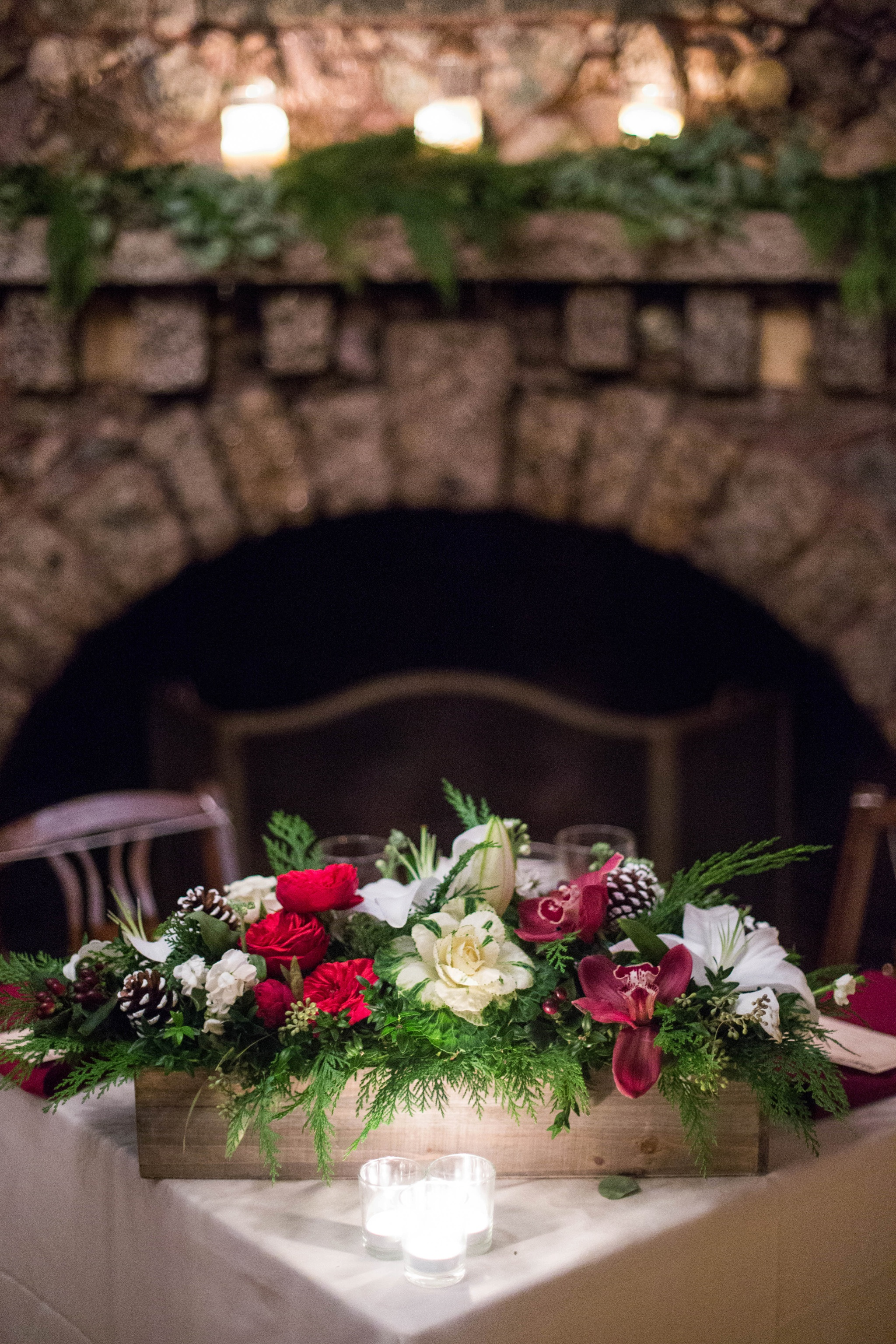 winter sweetheart table
