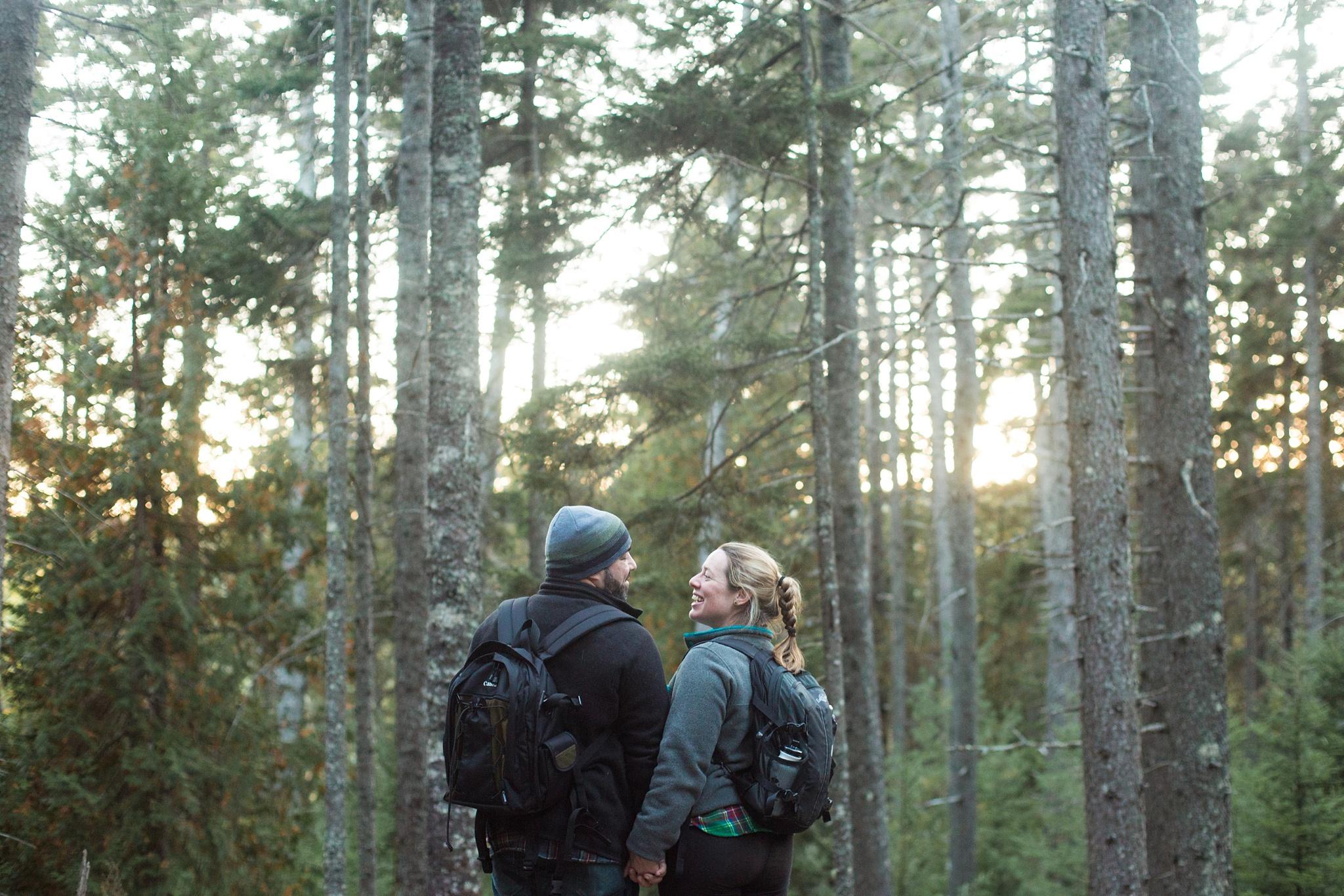 acadia national park proposal photographers
