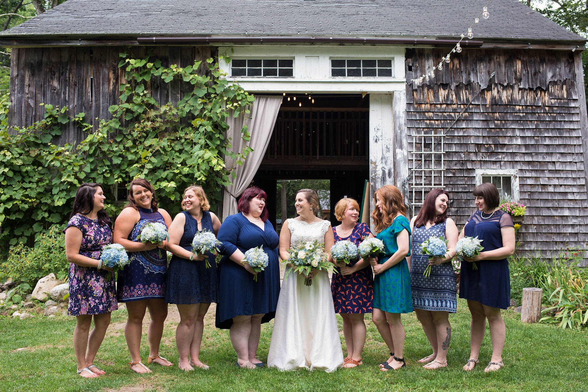 wedding at caswell farm