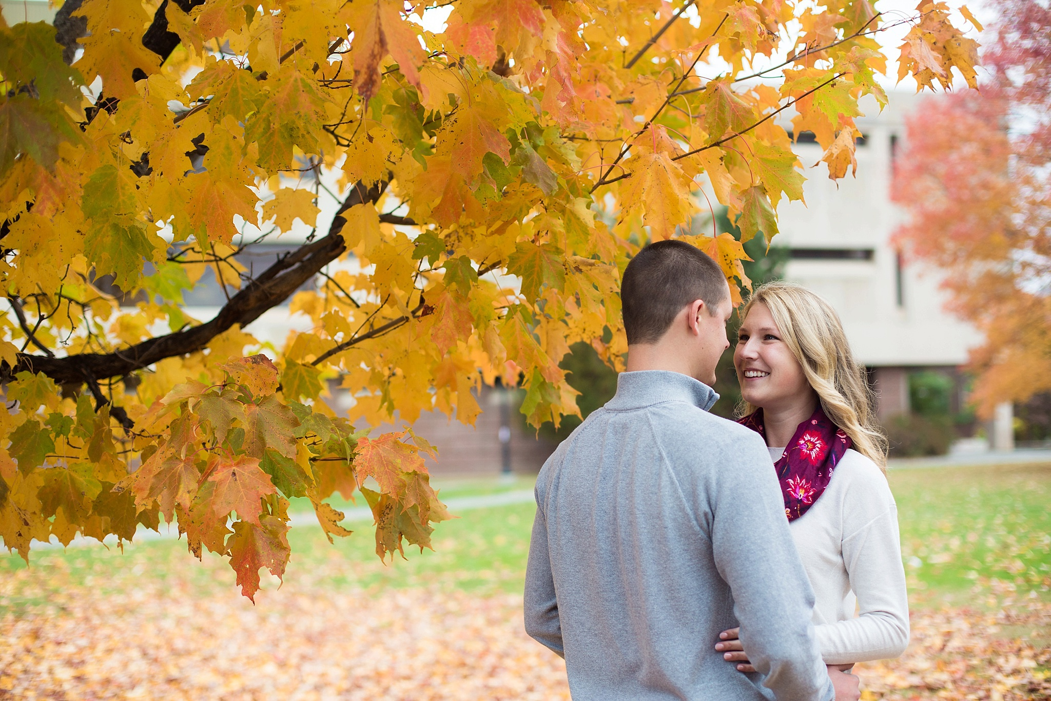 umaine campus engagement pictures
