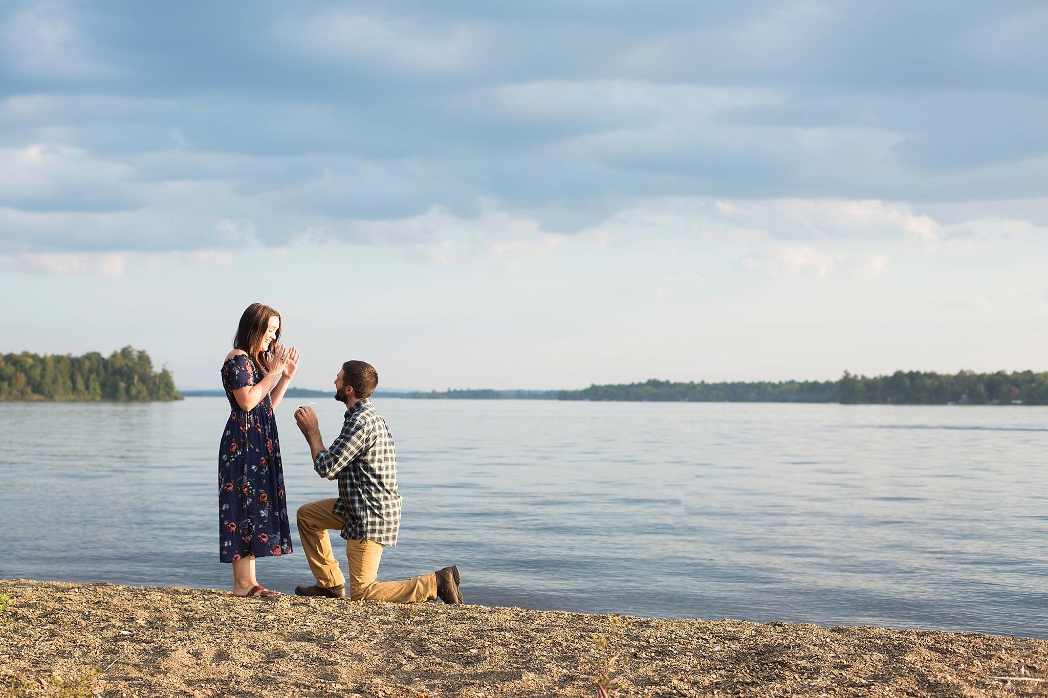 maine lake proposal