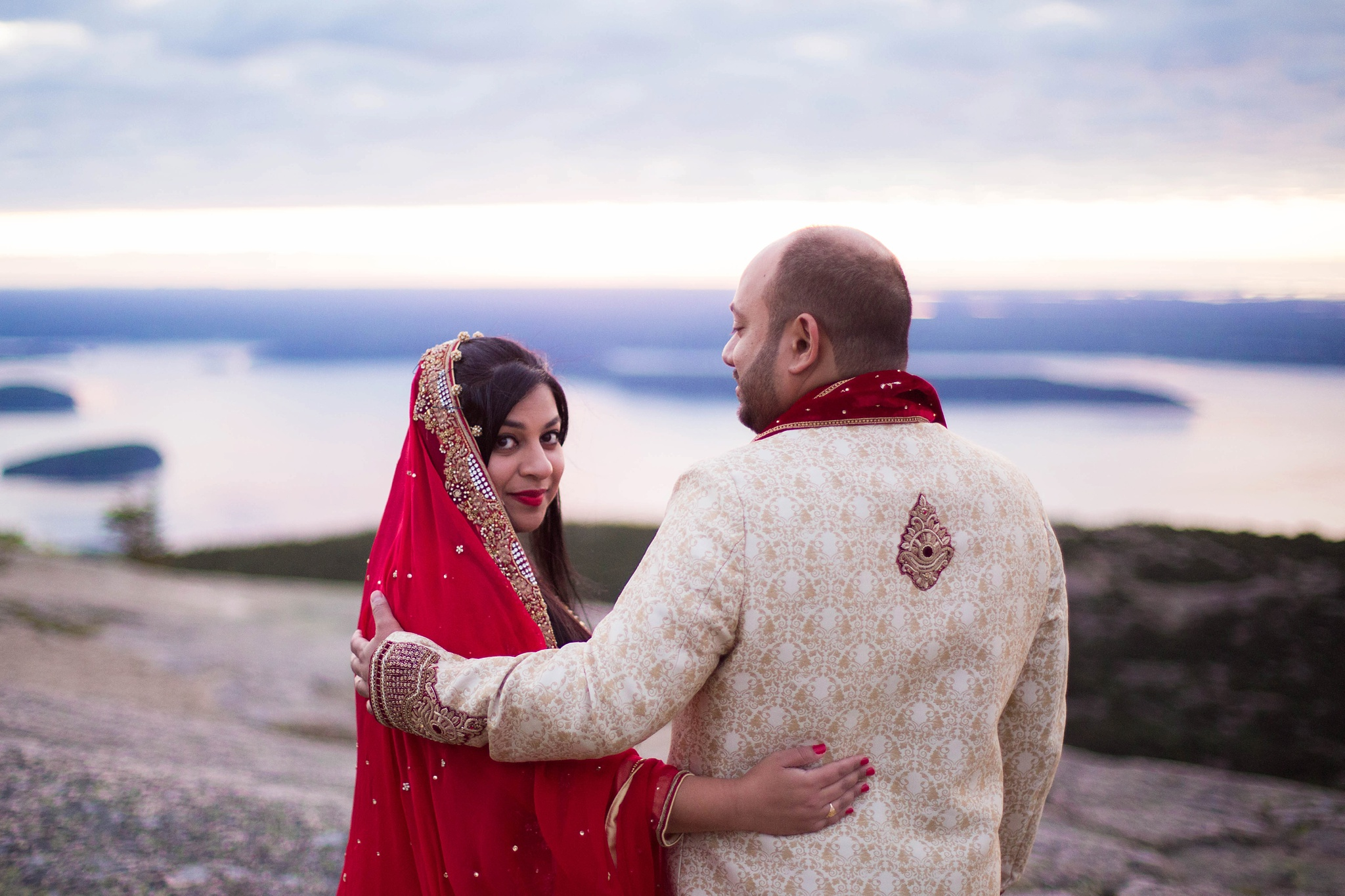 traditional indian engagement pictures