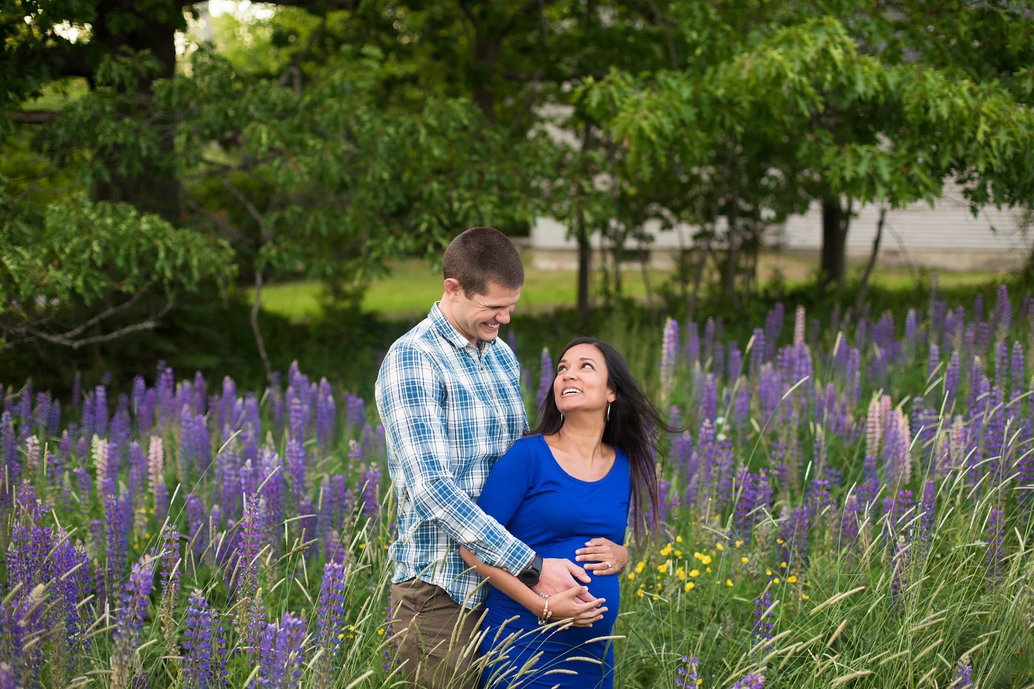 boy maternity photos