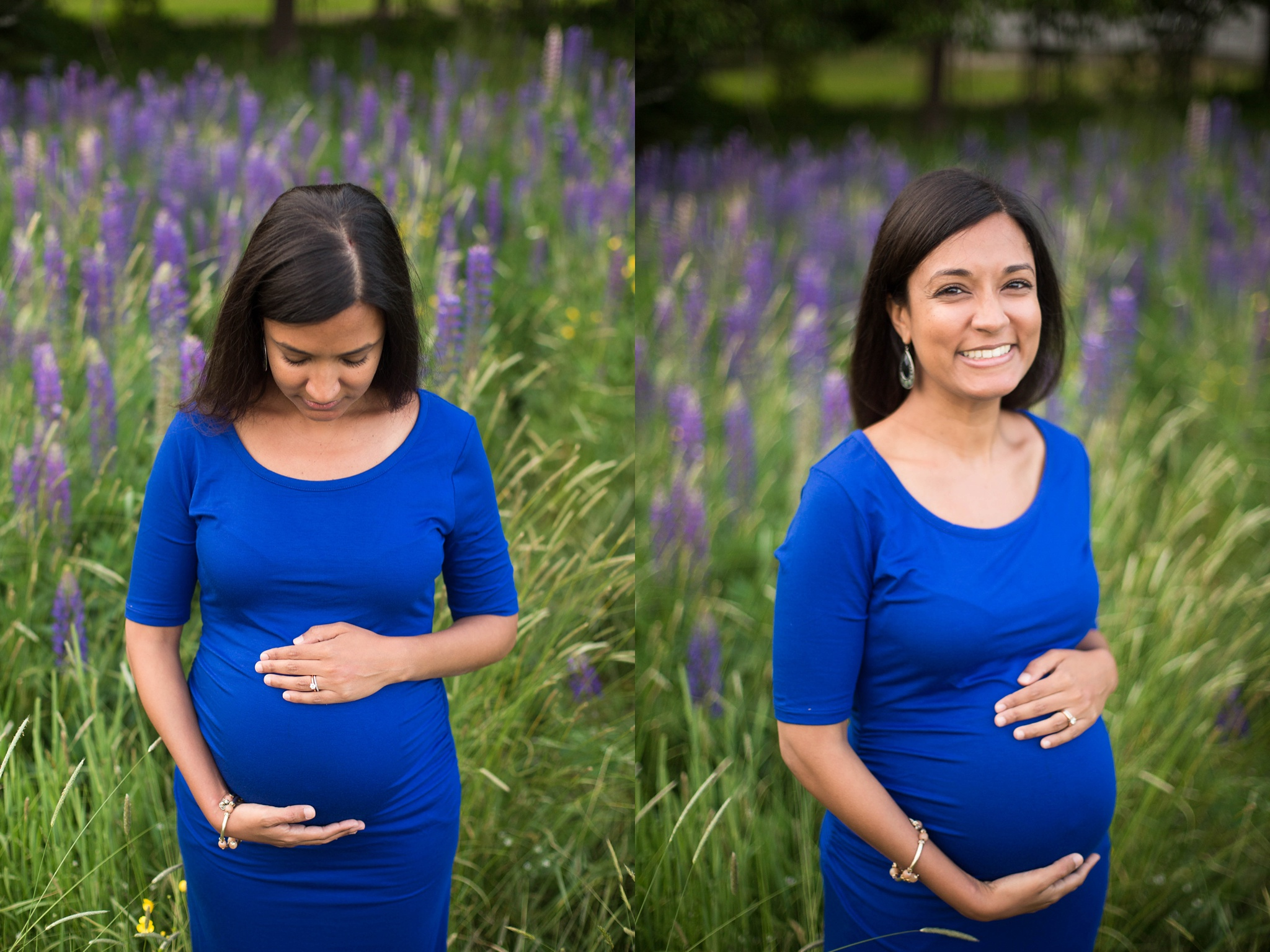 boy mom maternity photos