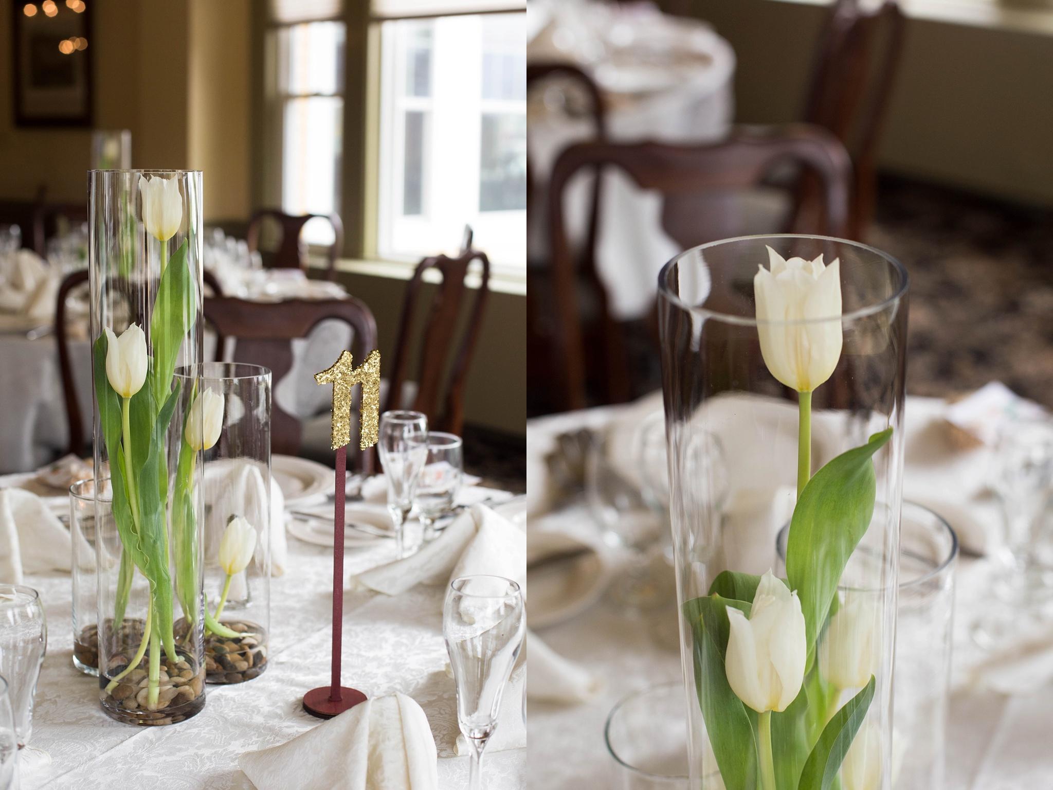 tulip centerpieces