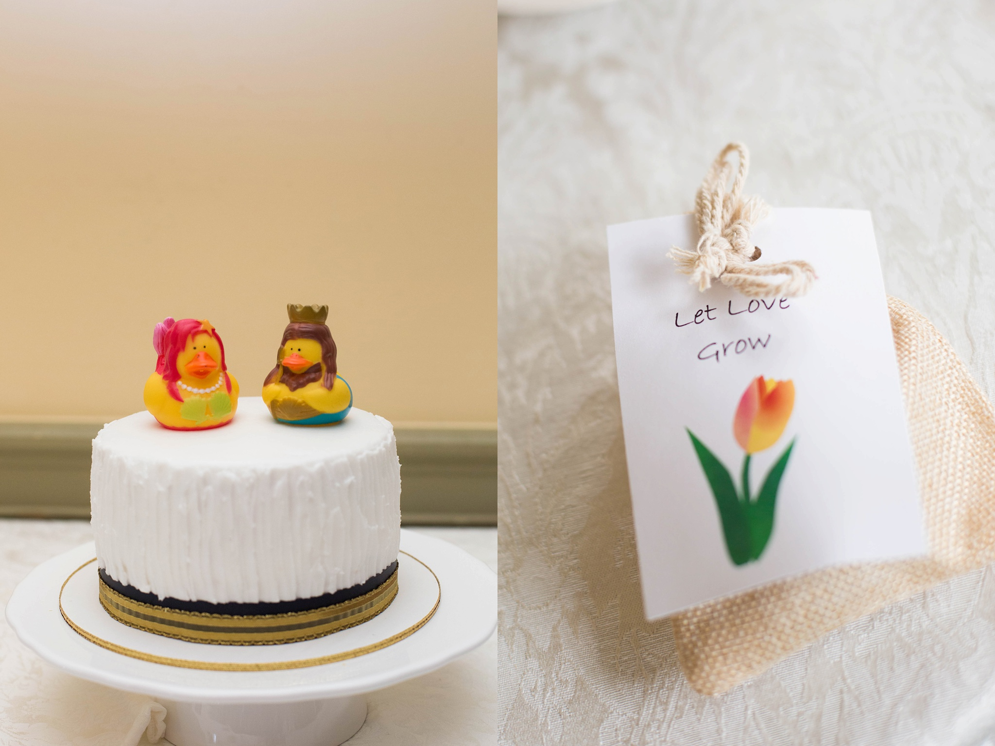 rubber duck wedding cake toppers