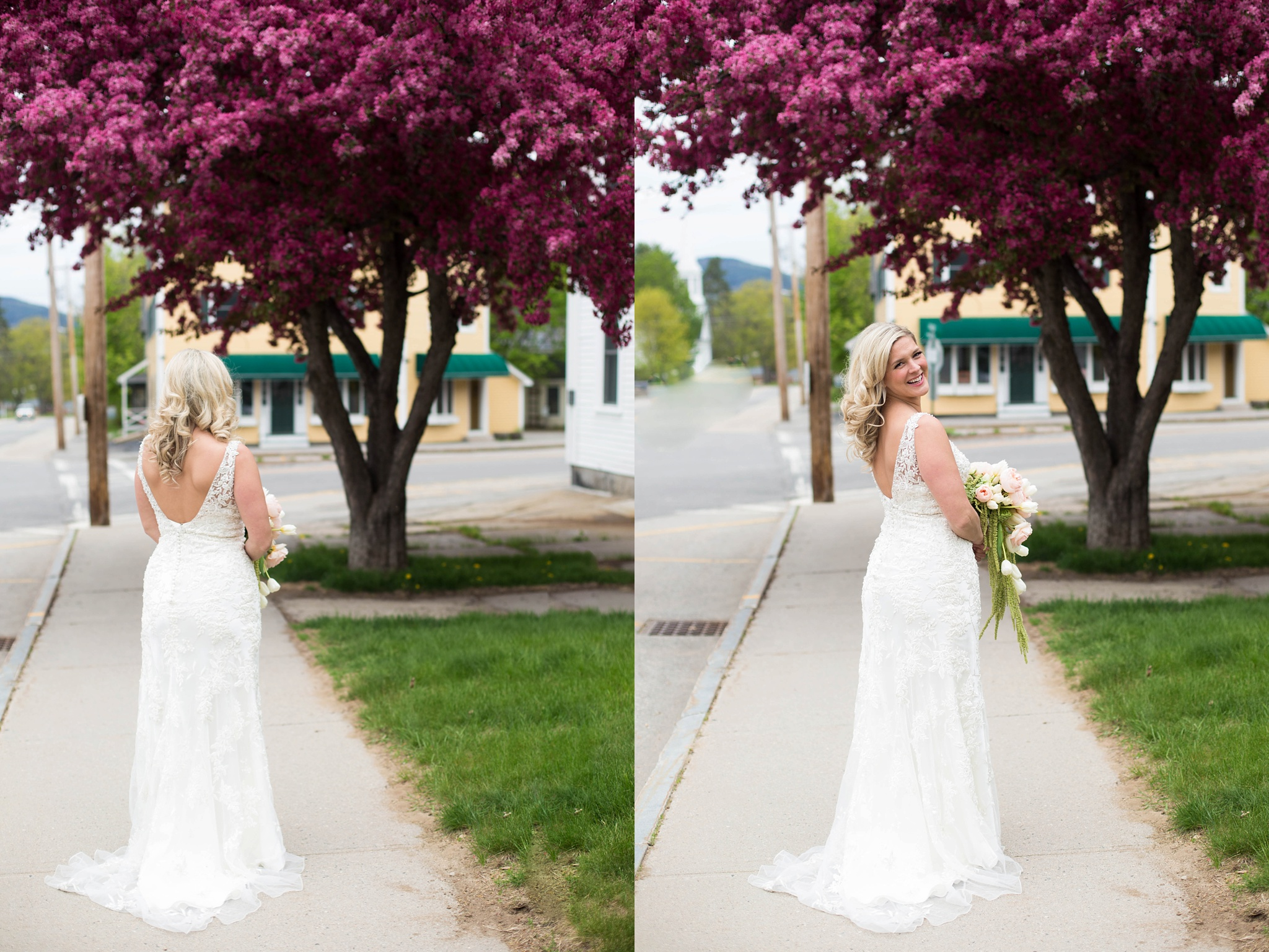 Spring time bridal portraits