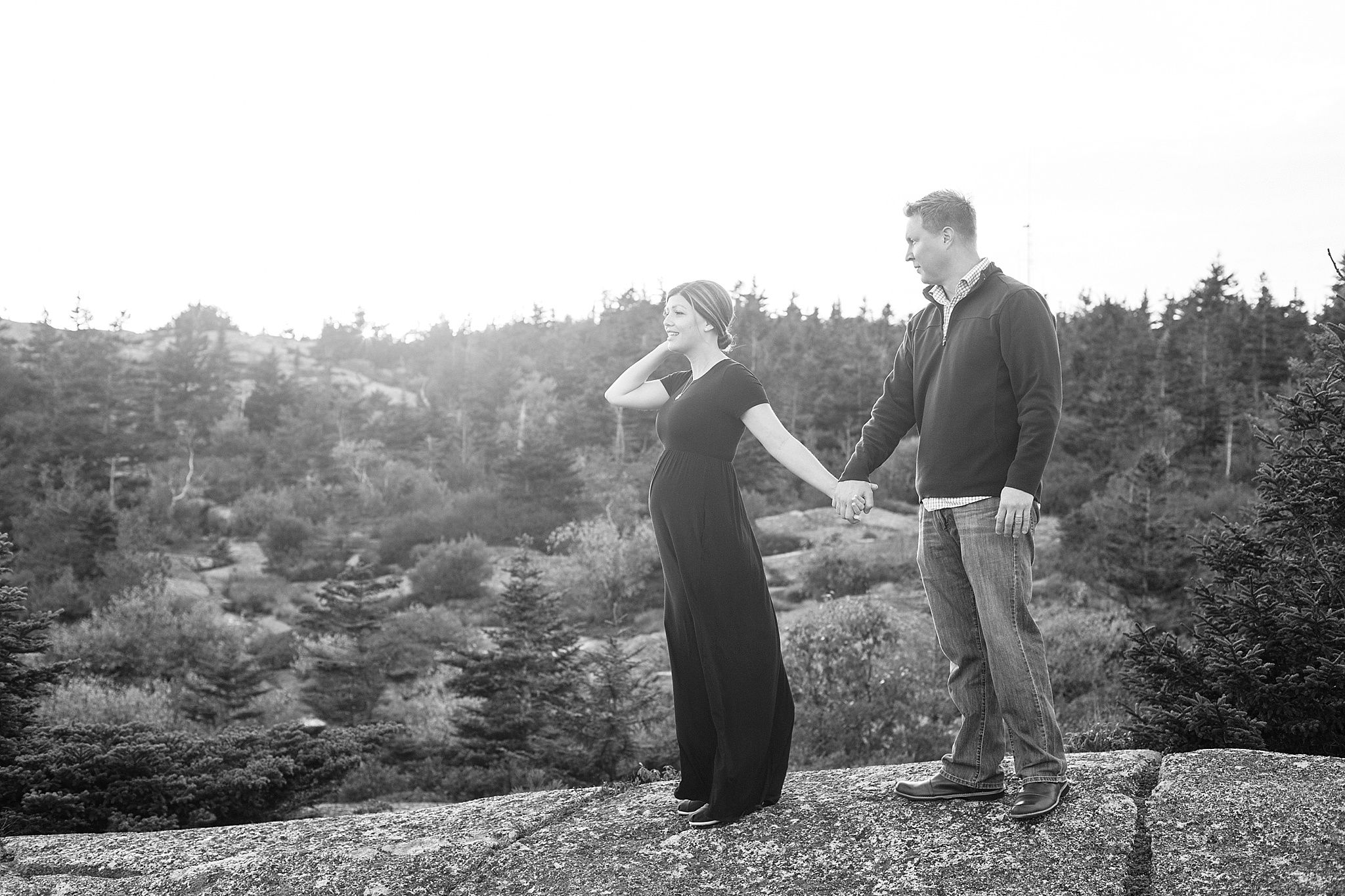 Bar Harbor Maternity Photos