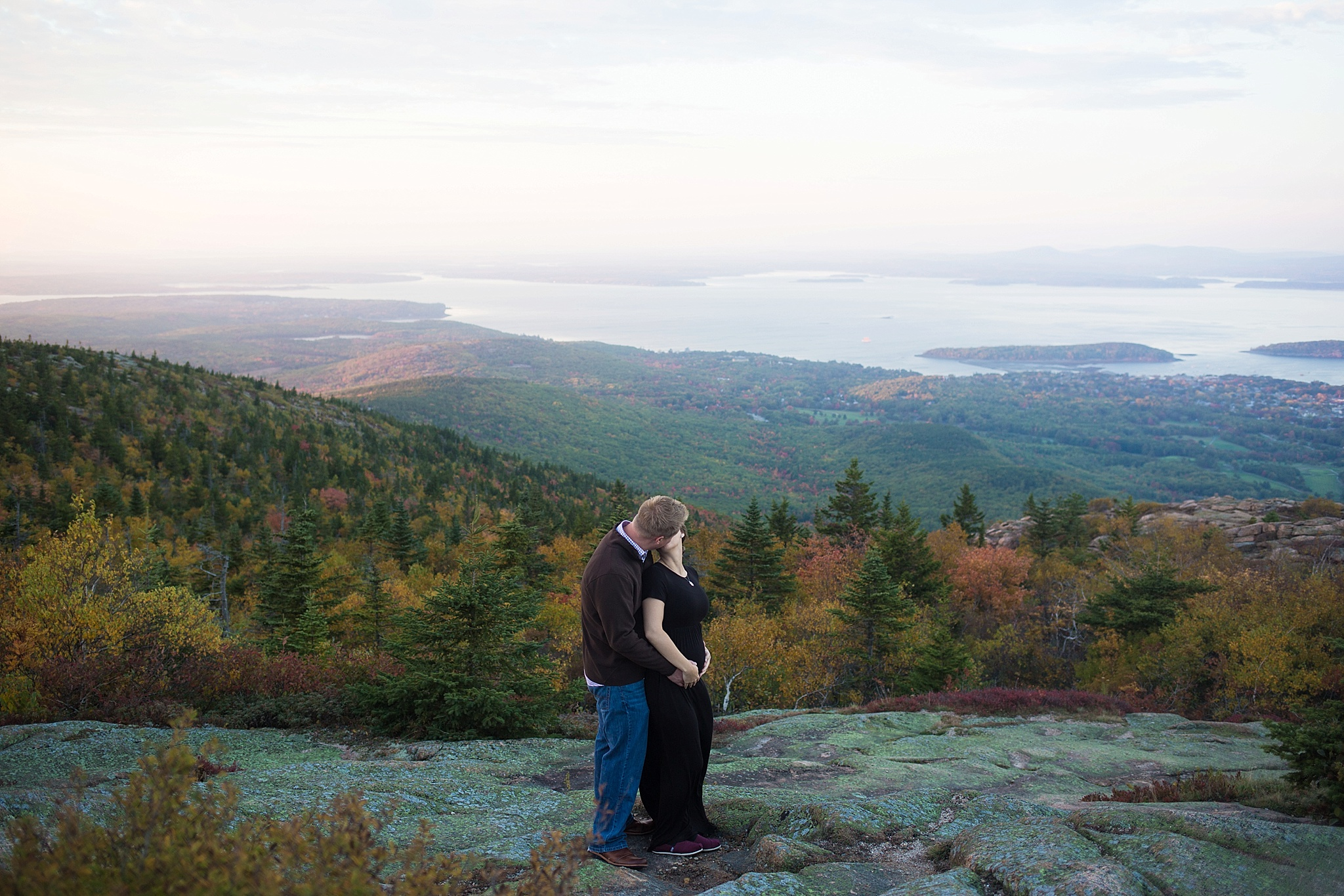Cadillac Mountain in the Fall
