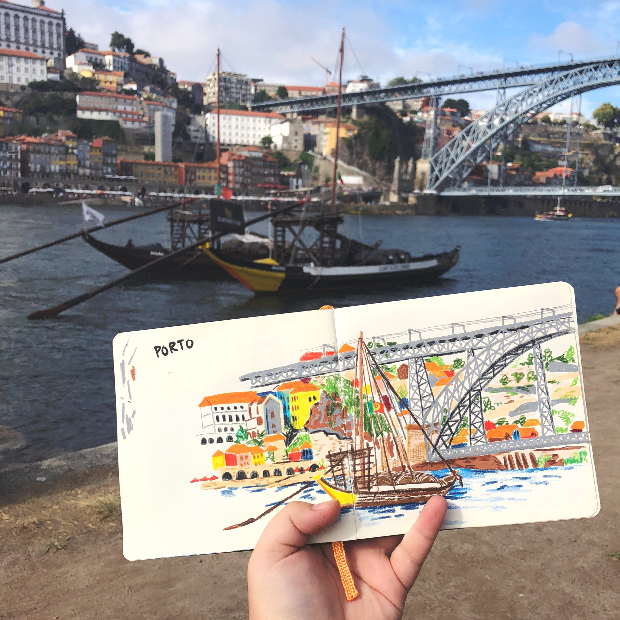 Travel Sketchbook -