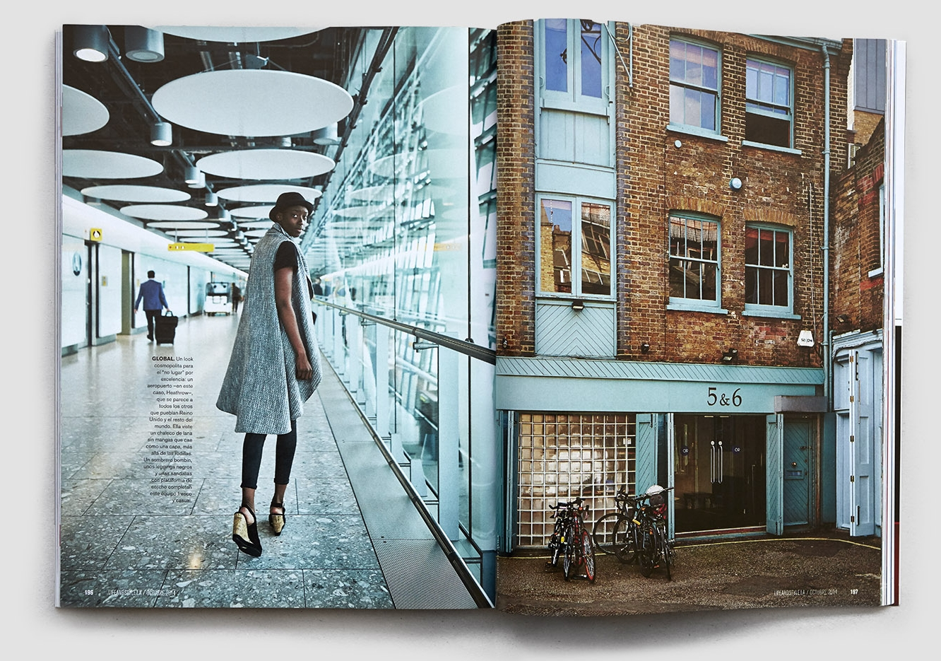 LIFE & STYLE MAGAZINE - 7 PORTRAITS FROM LONDON