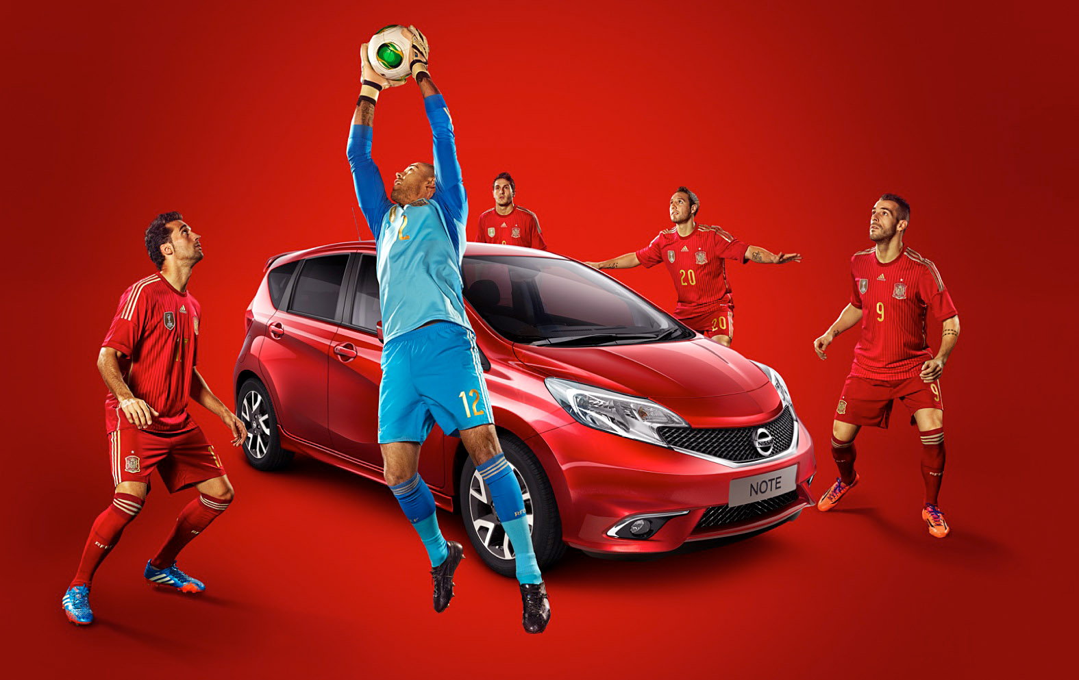 NISSAN NOTE - SPANISH NATIONAL TEAM