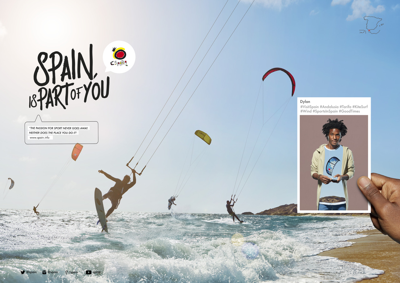 WORLDWIDE SPAIN TOURISM CAMPAIGN