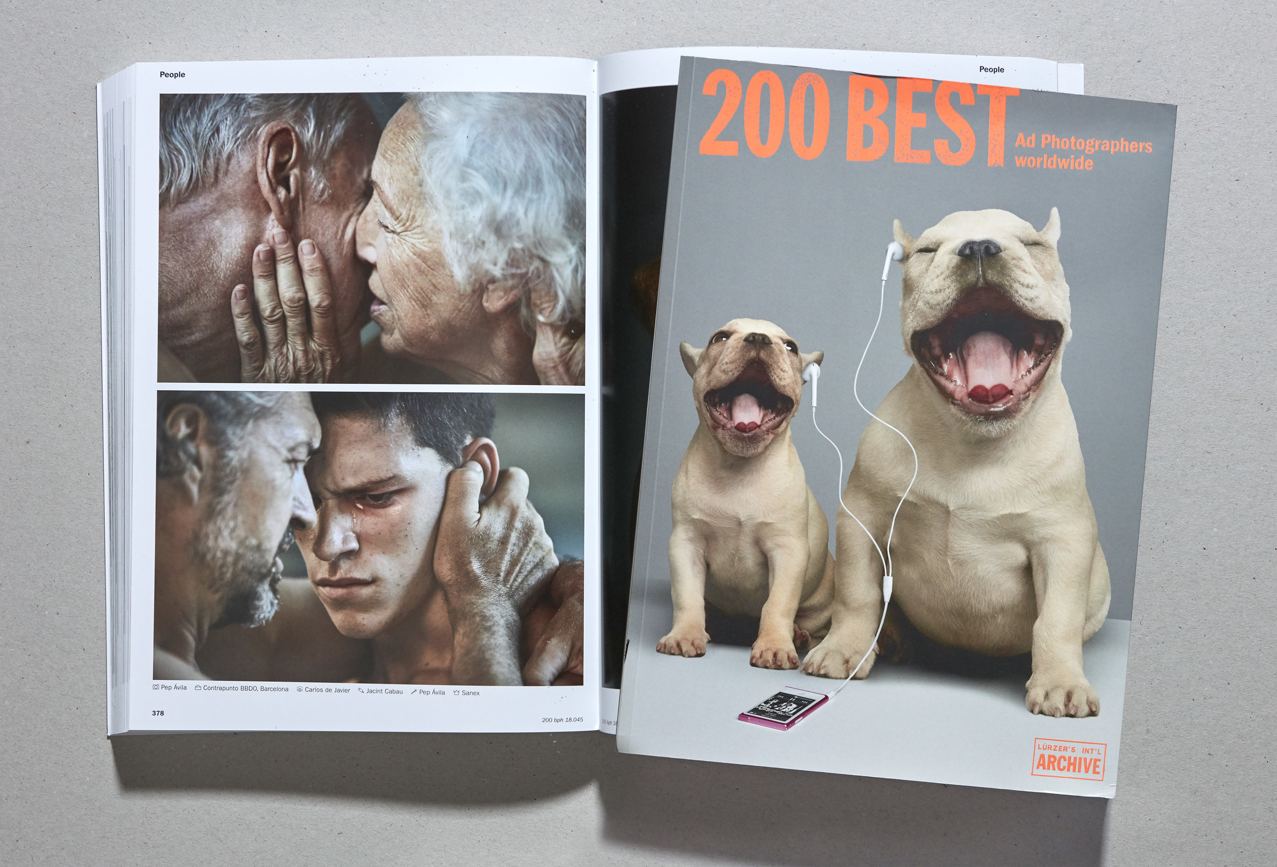 200 BEST AD PHOTOGRAPHERS WORLDWIDE. LÜRZERS ARCHIVE.