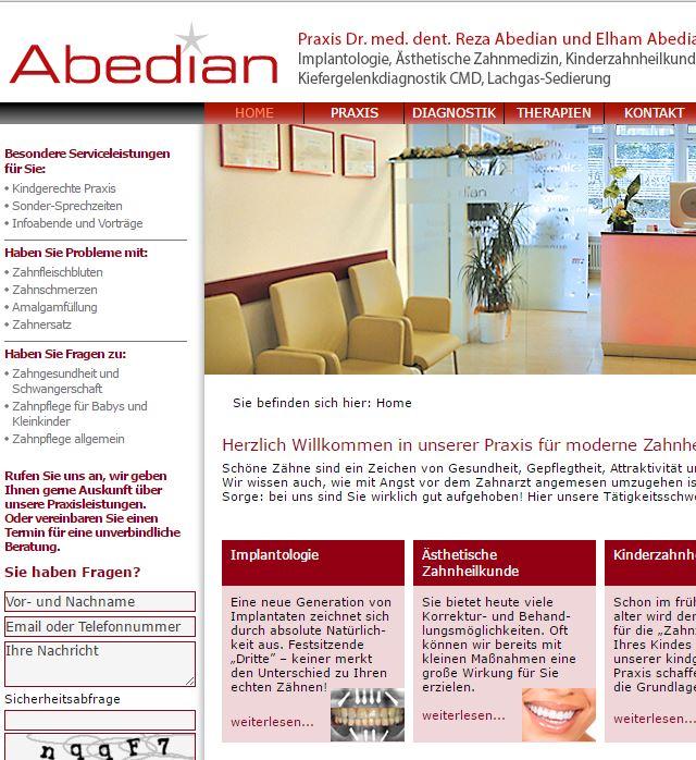 Zahnarztpraxis Abedian