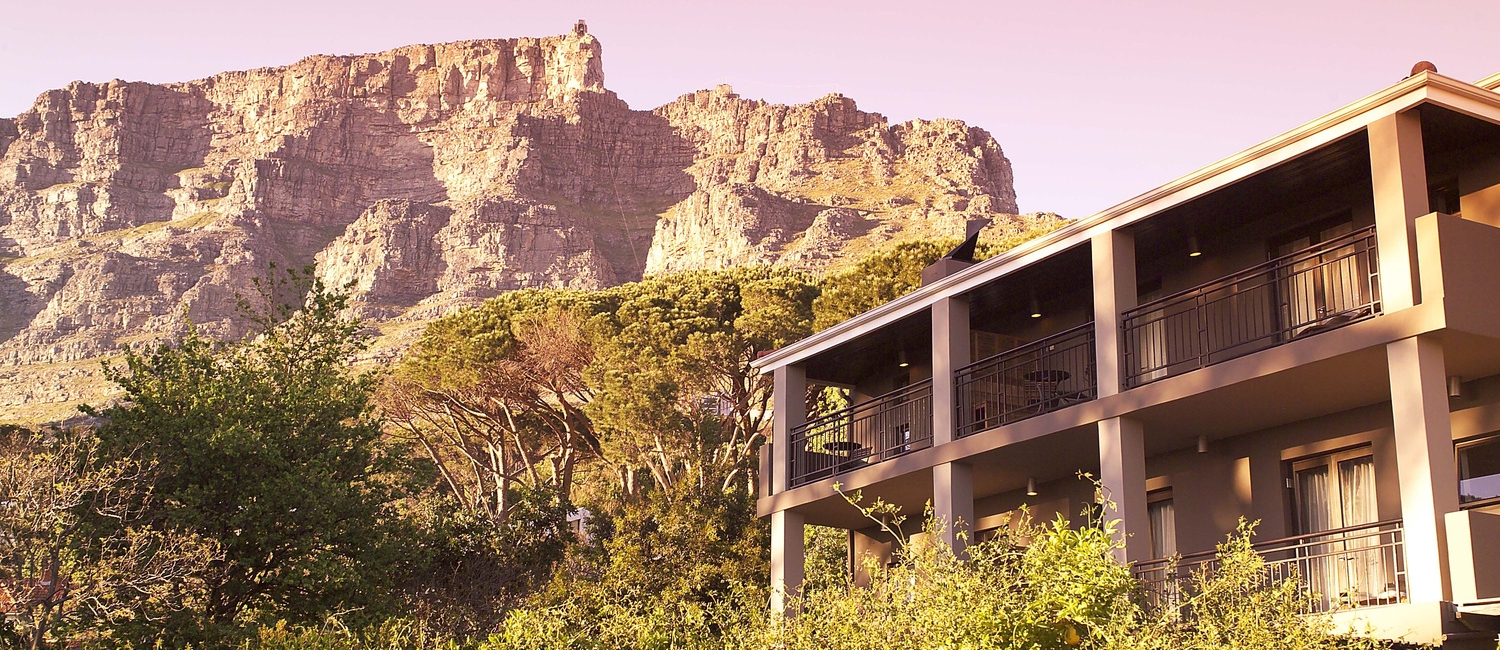 Exterior with Table Mountain
