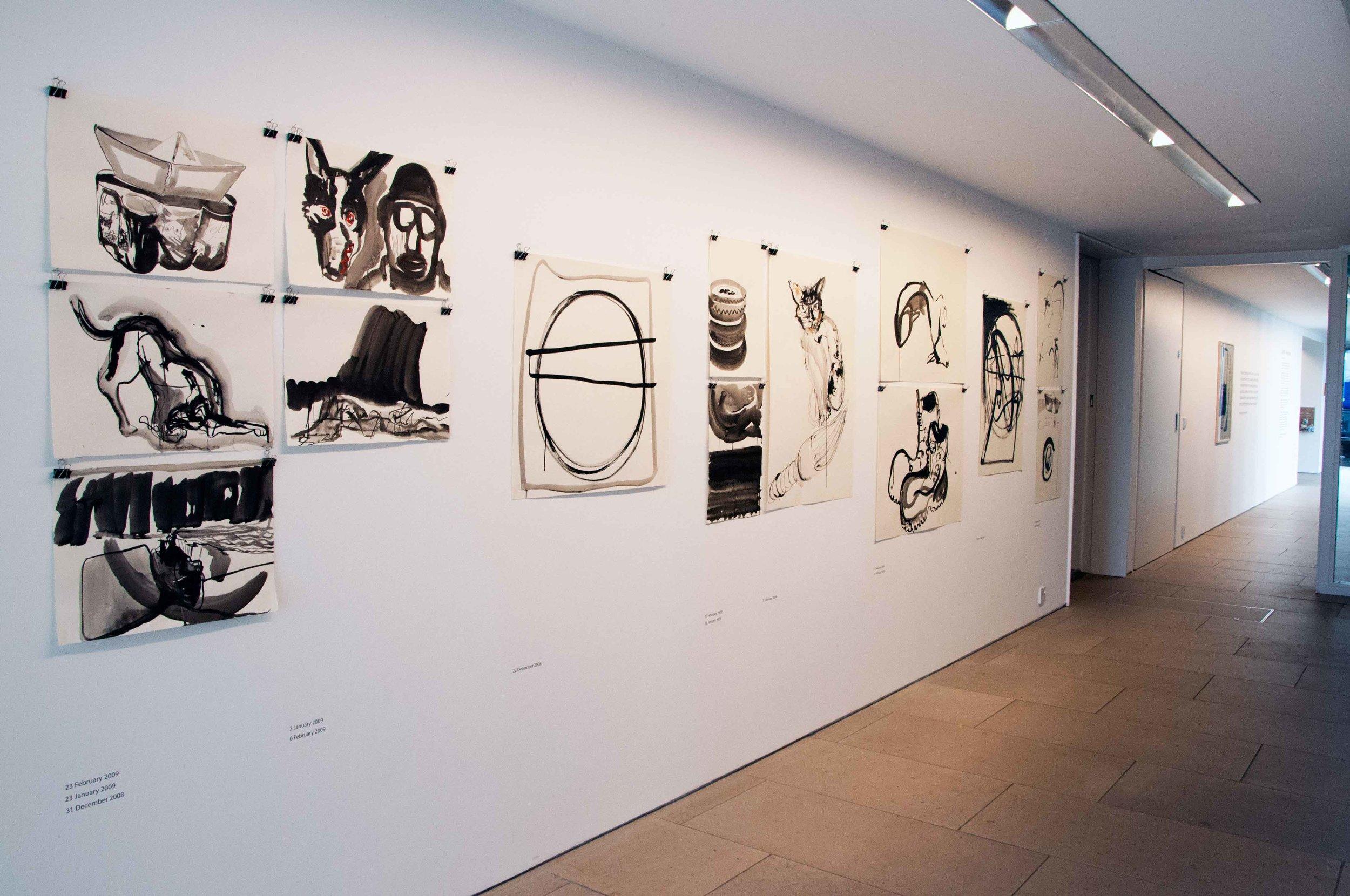 Neville-Gabie-Exhibition-View-Emailing-Antarctica-Drawings.jpg