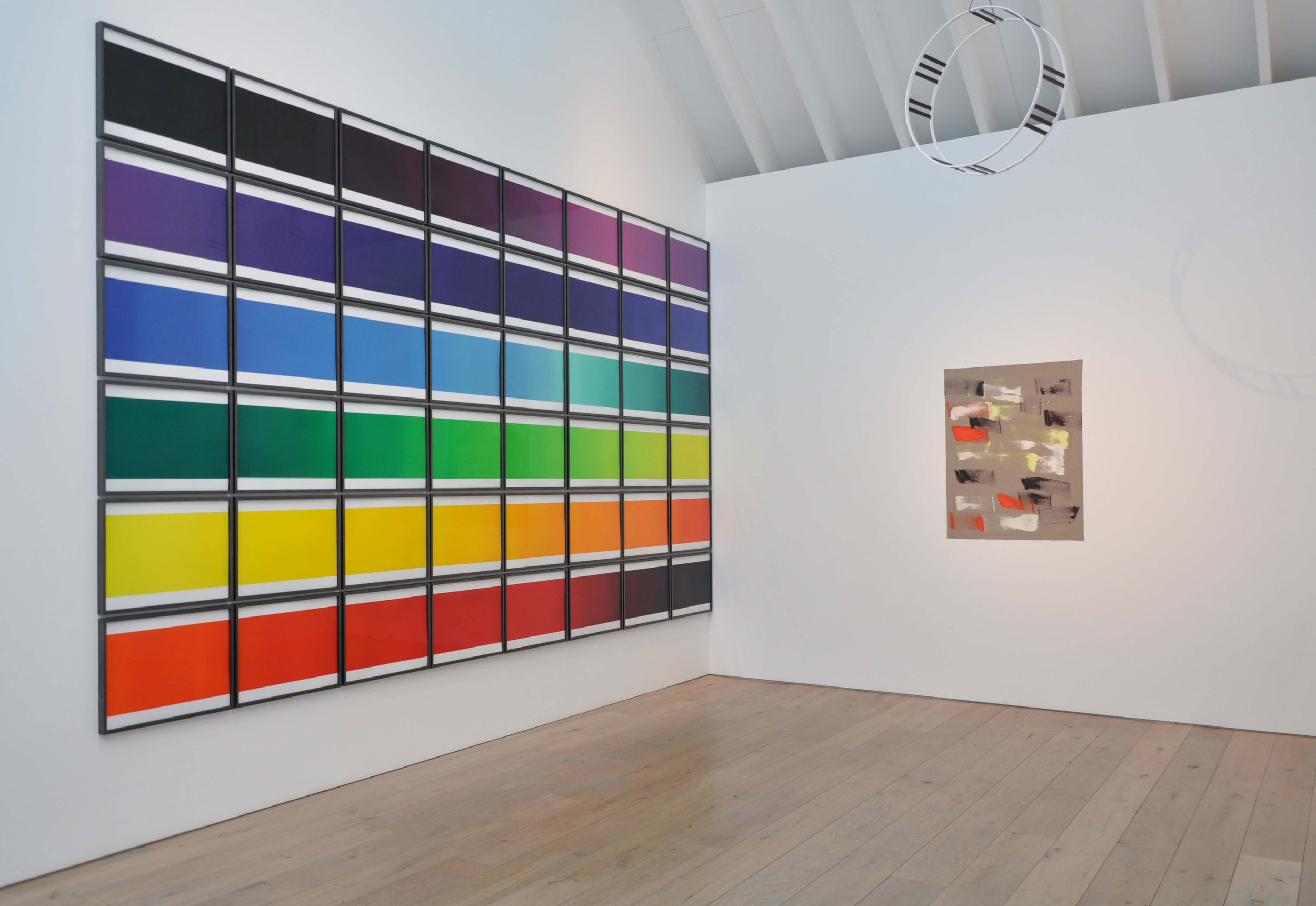 Works by Olafur Eliasson, Ingo Meller and Camilla Low from the Pier Arts Centre Collection
