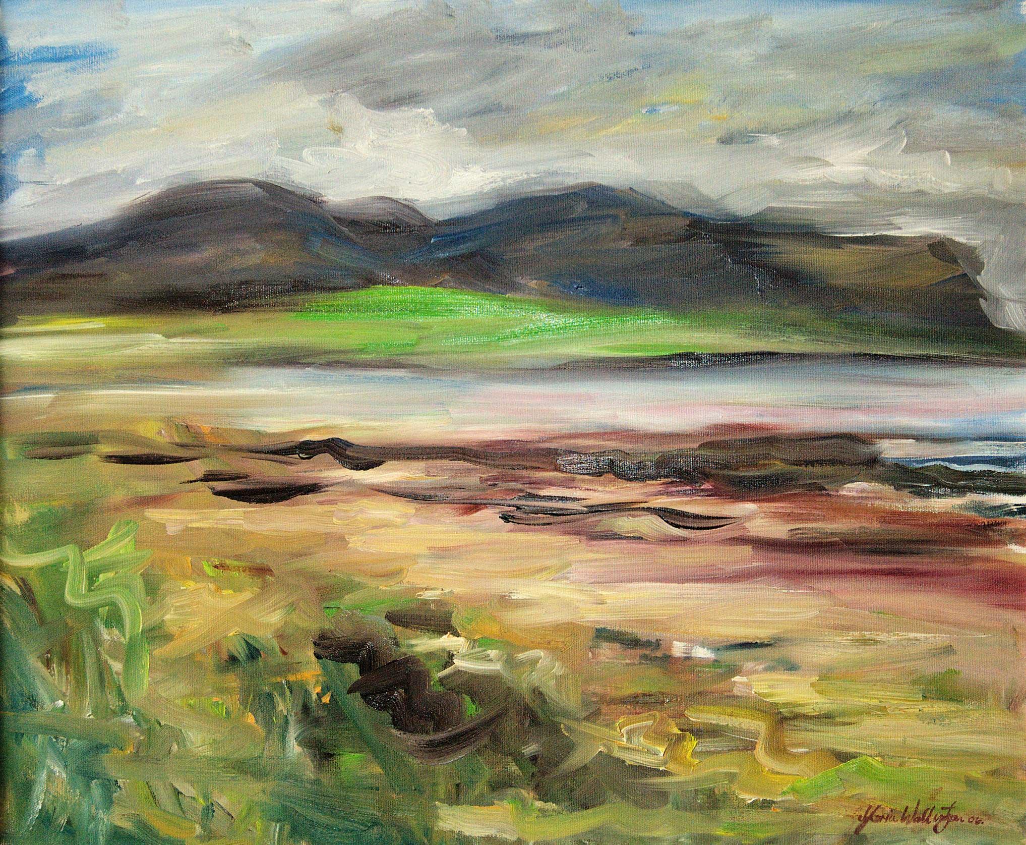 Gloria Wallington, The Green Island of Graemsay, 2016. © the artist