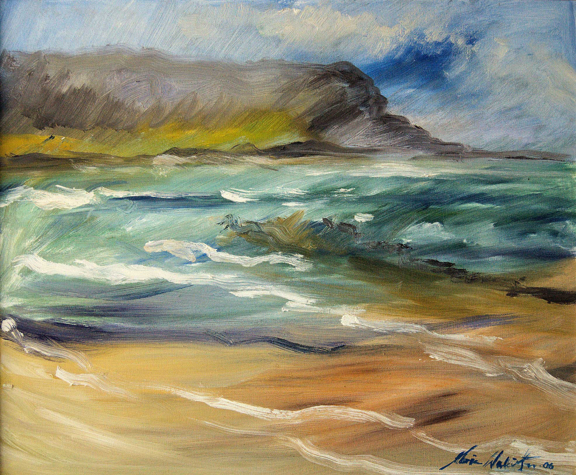 Gloria Wallington, Wind and Waves and Hoy, 2016. © the artist