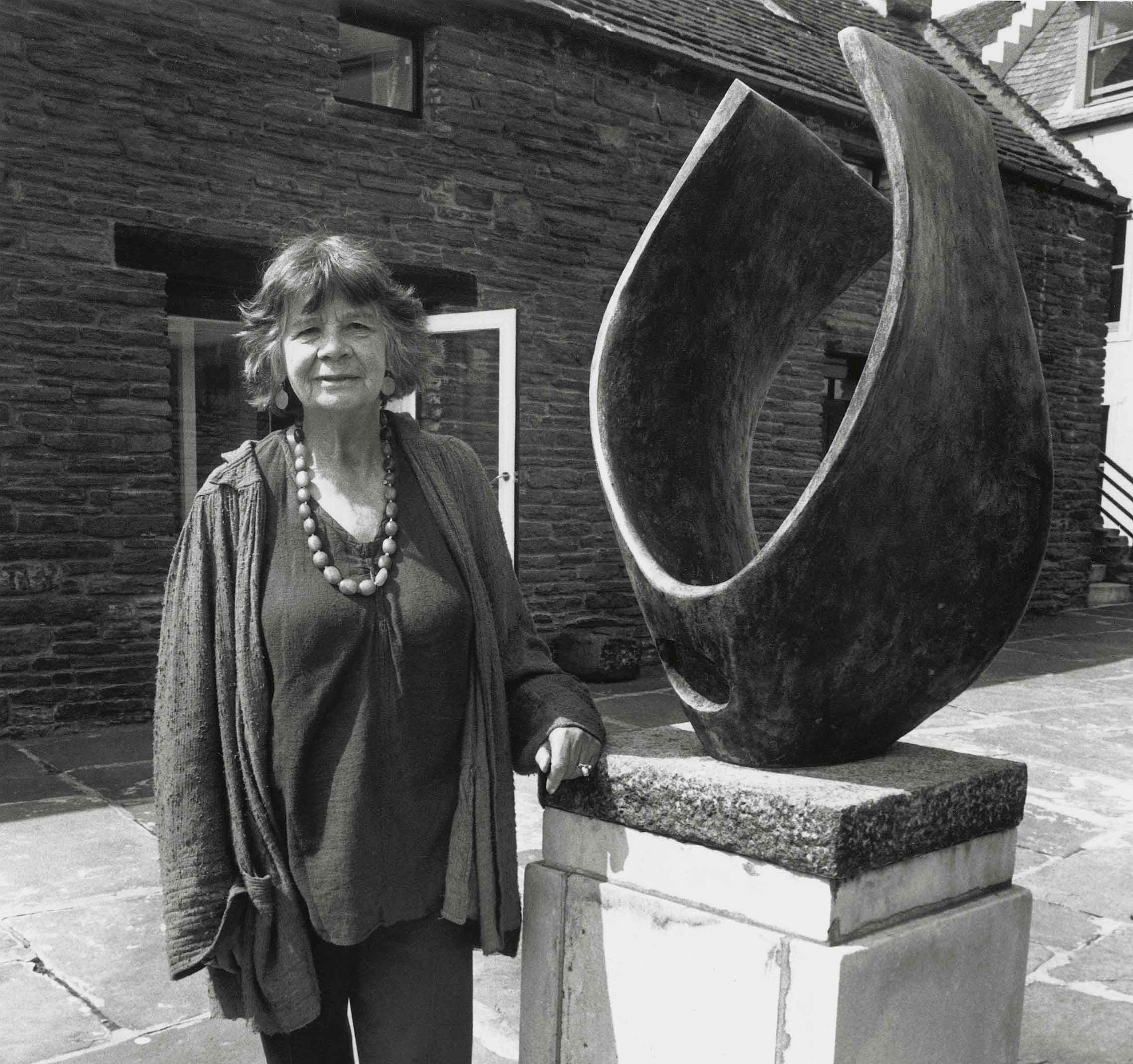 Founder of the Pier Arts Centre, Margaret Gardiner c. 1980