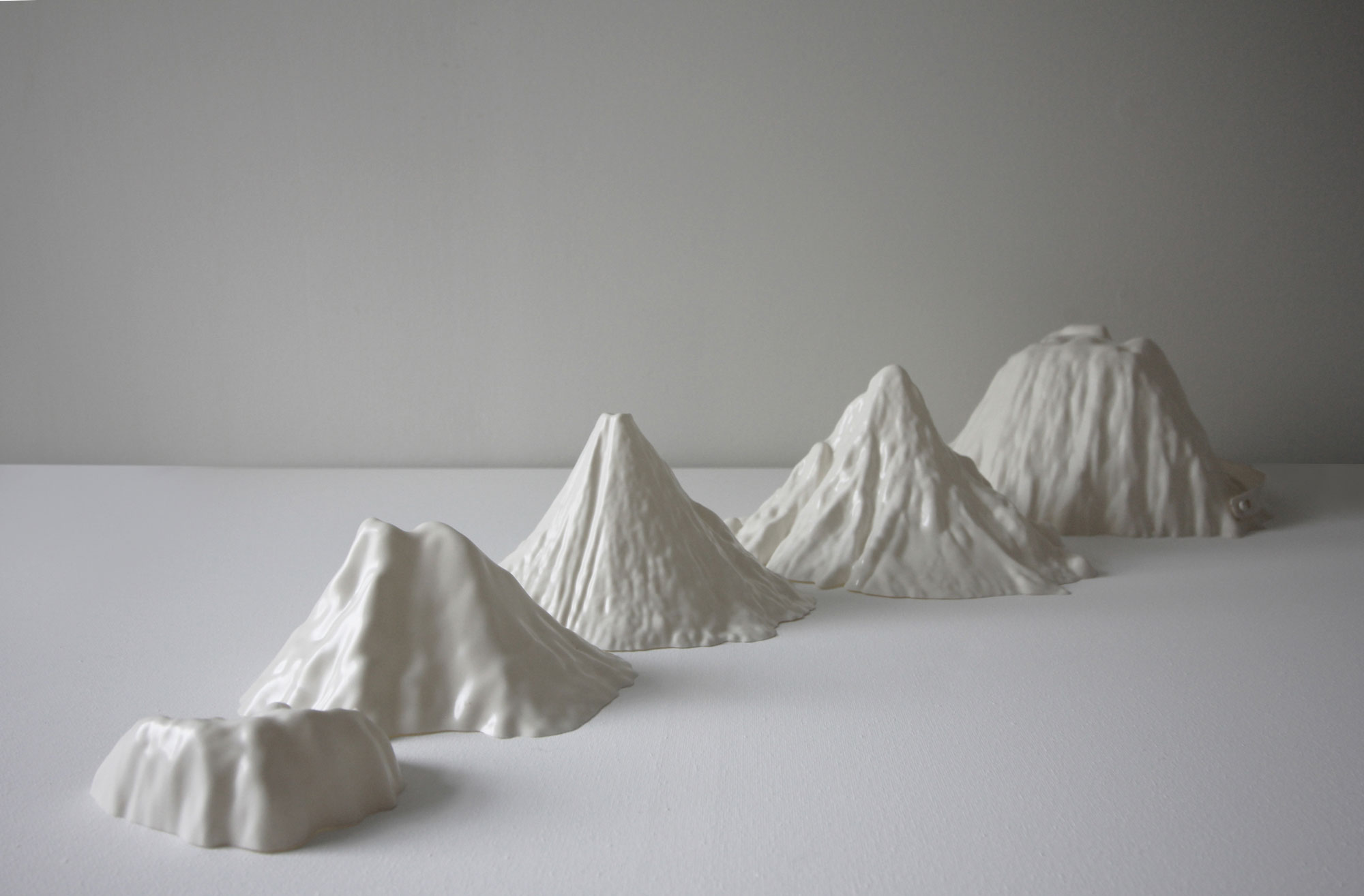 Katie Paterson  First There is a Mountain , 2019 © the artist