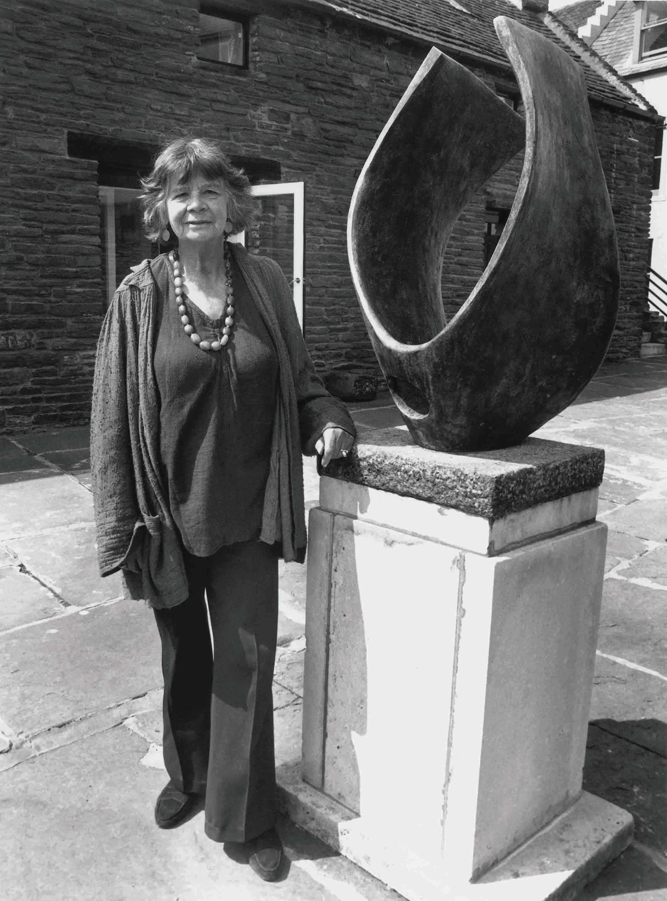 Margaret Gardiner at the Pier Arts Centre c.1980