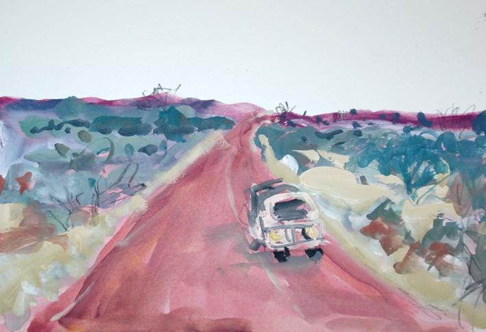 Coober Pedy to Broken Hill 2011