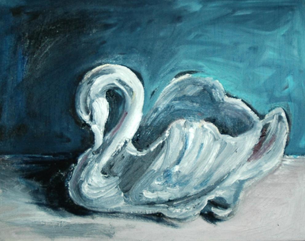 Crown Lynn swan #2