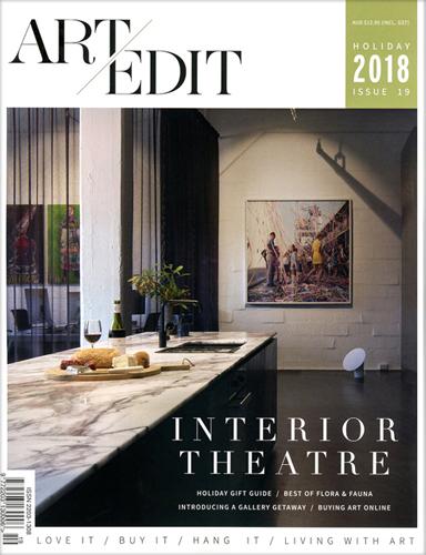 Art/Edit Magazine   Holiday 2018 Issue 19  Interior Theatre / Best of Flora & Fauna