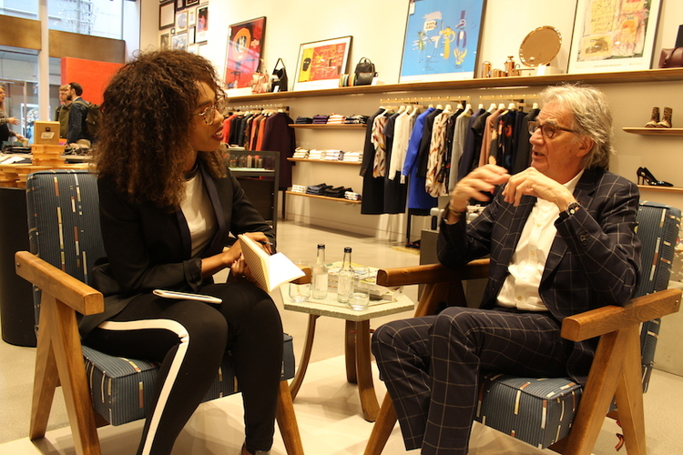 Interviewing Paul Smith.JPG