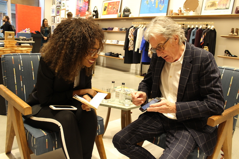 Interviewing Paul Smith 2.JPG