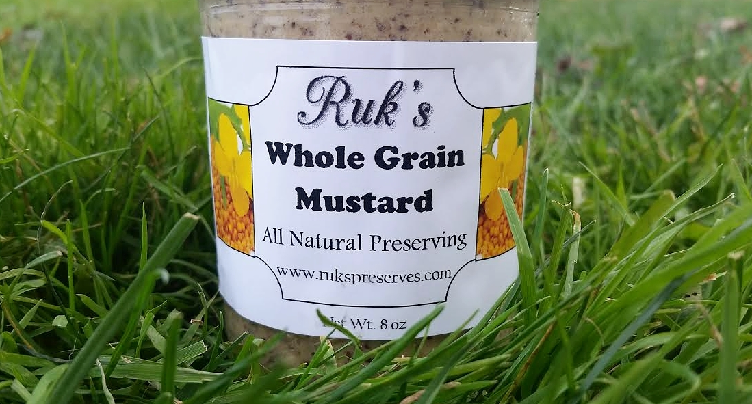 8 oz. Jar    This coarsely ground mustard has a bit of a bite giving a delicious zip to any sandwich. Order this mustard today or stop in to Insurrection Aleworks in Heidelberg, PA where you will find our mustard served on their menu daily.    Ingredients: Yellow Mustard Seeds, Brown Mustard Seeds, Vinegar, Salt