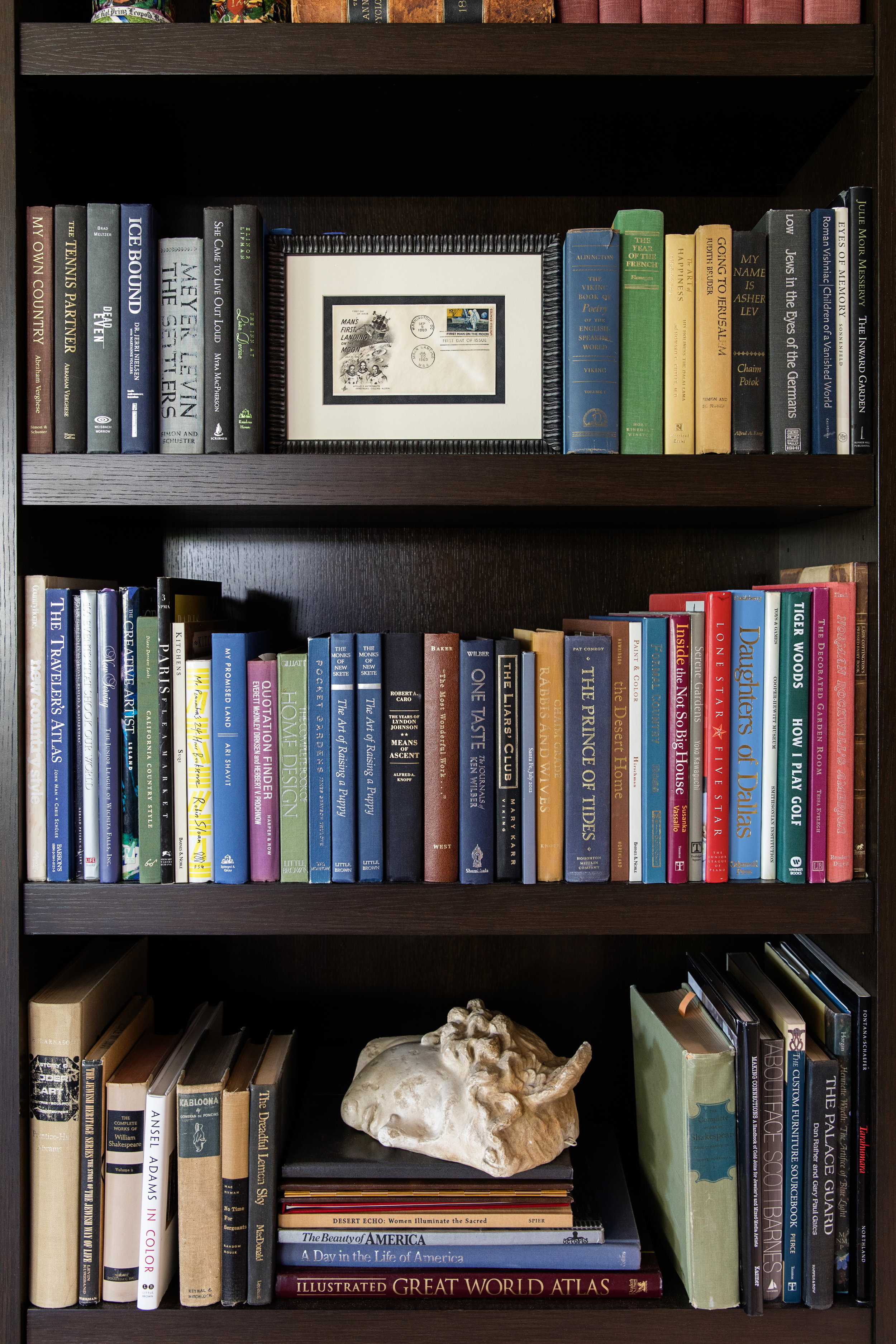Books, books and more beautiful books.