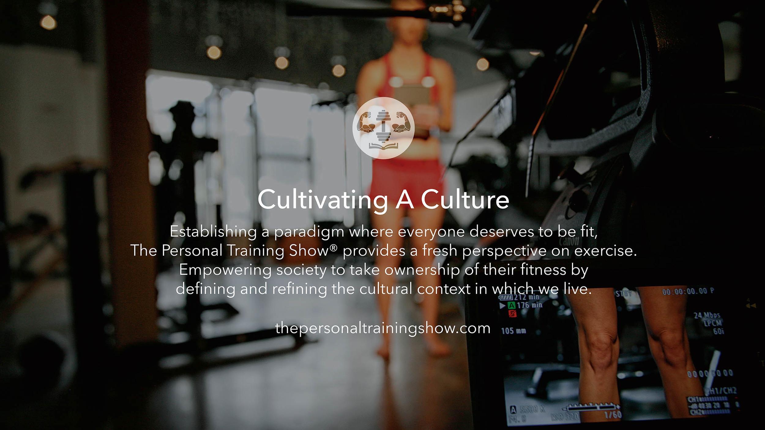 Cultivating A Culture