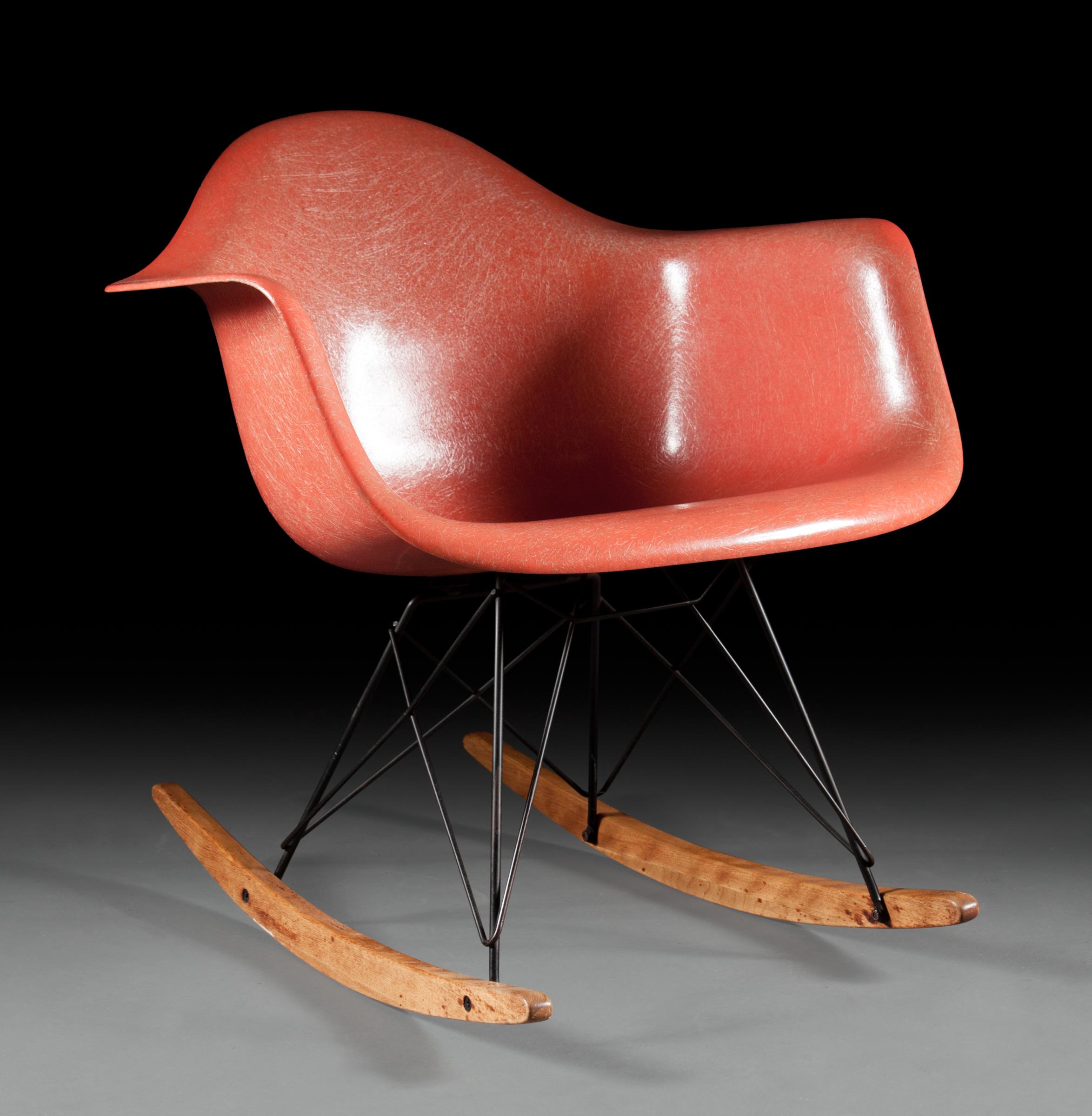 """Eames """"RAR"""" Rocking Chair"""