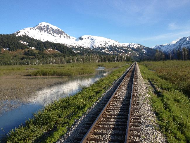 Travel through this breath-taking Great Land by rail.