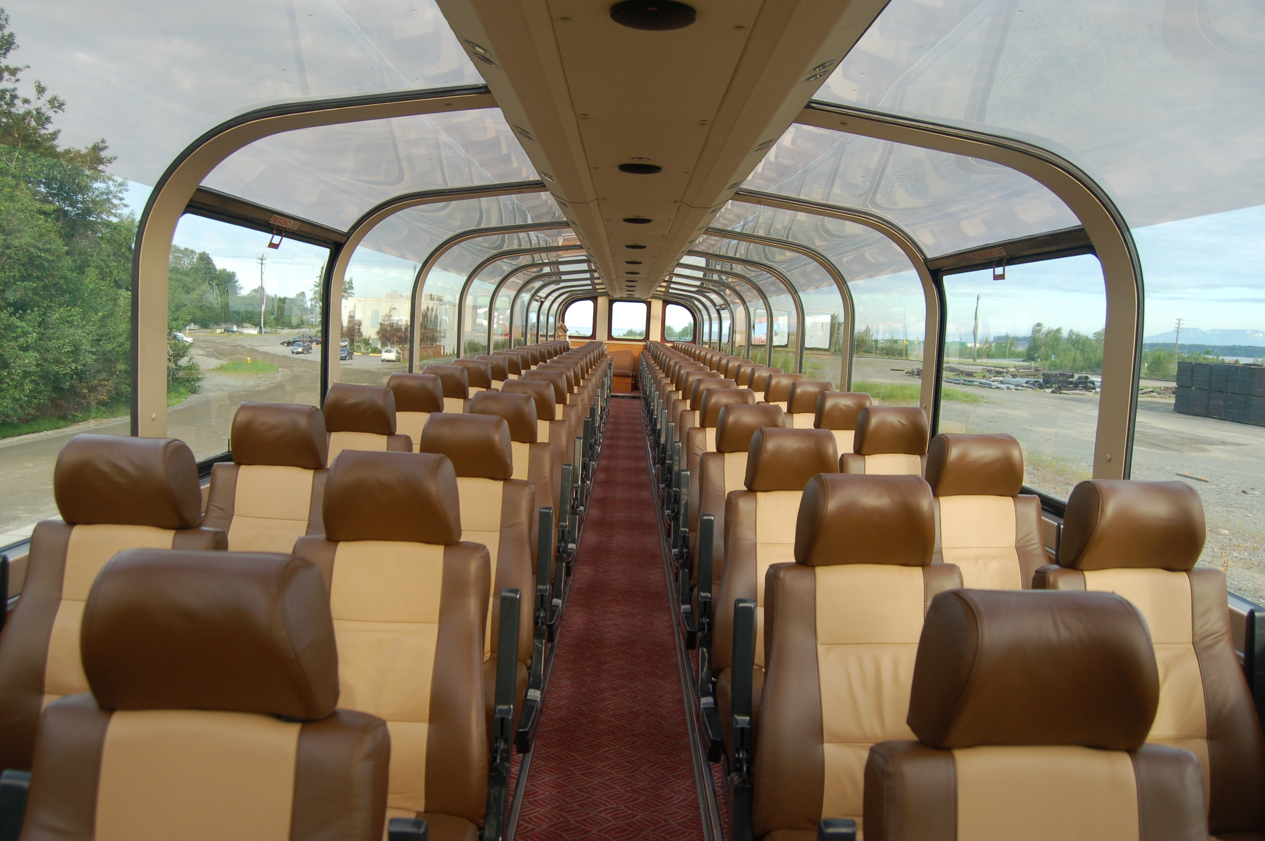 Wilderness Express Interior