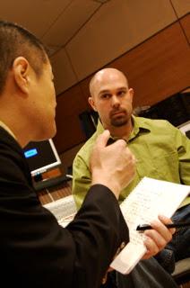 My interview at the Yamaha Music School with Mr. Hiroya Murai.