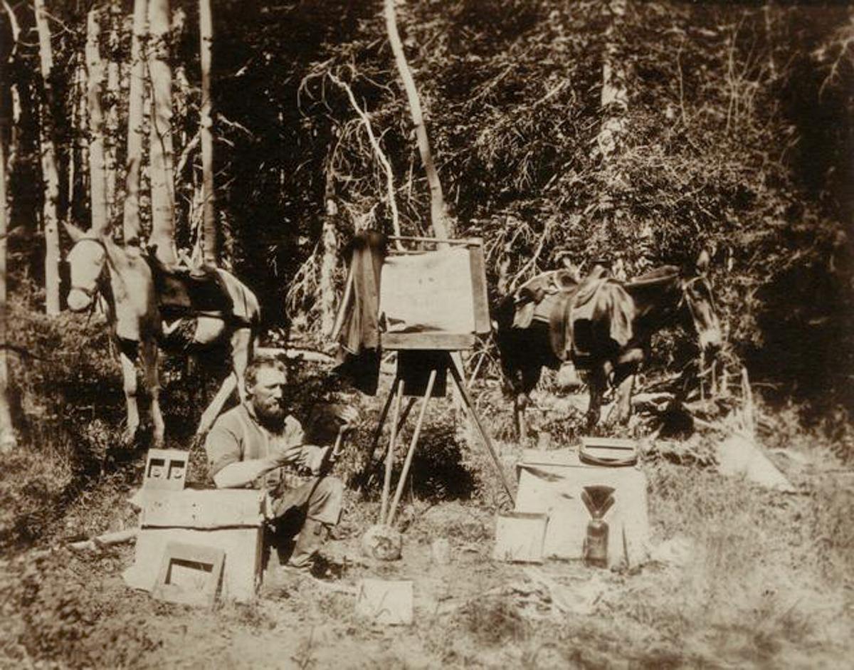 John K. Hillers. Aquarius Plateau, Utah 1872