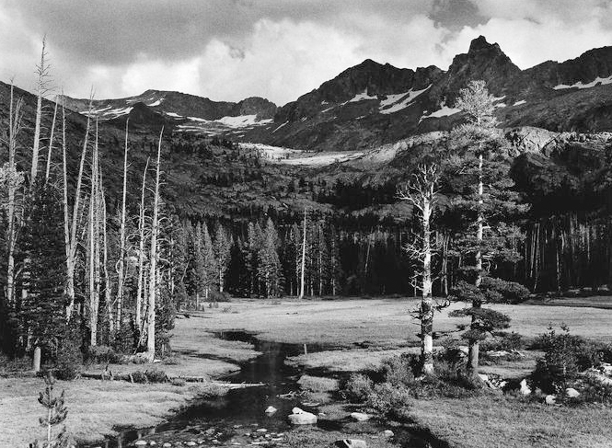 Ansel Adams. Mt. Ansel Adams, circa 1940