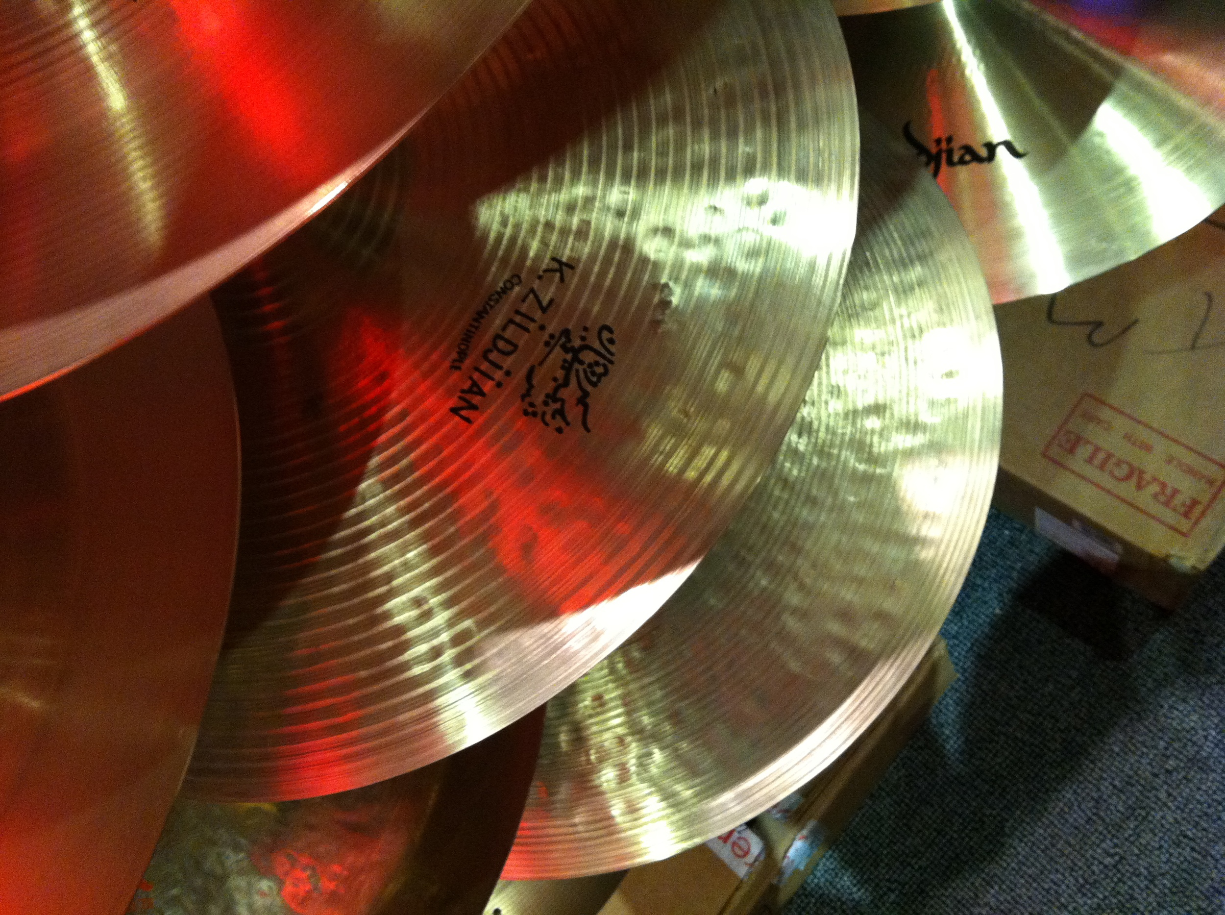 Reproductions of the legendary Constantinople from Zildjian are still available with a stamped instead of engraved brand mark.