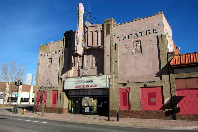 Denver's Historic Aztlan Theatre on Santa Fe Dr.