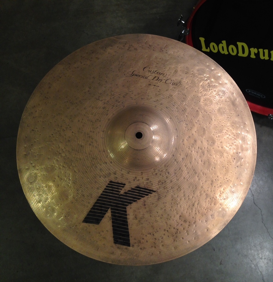 It doesn't get any drier than this awesome Zildjian K Custom Crash cymbal.
