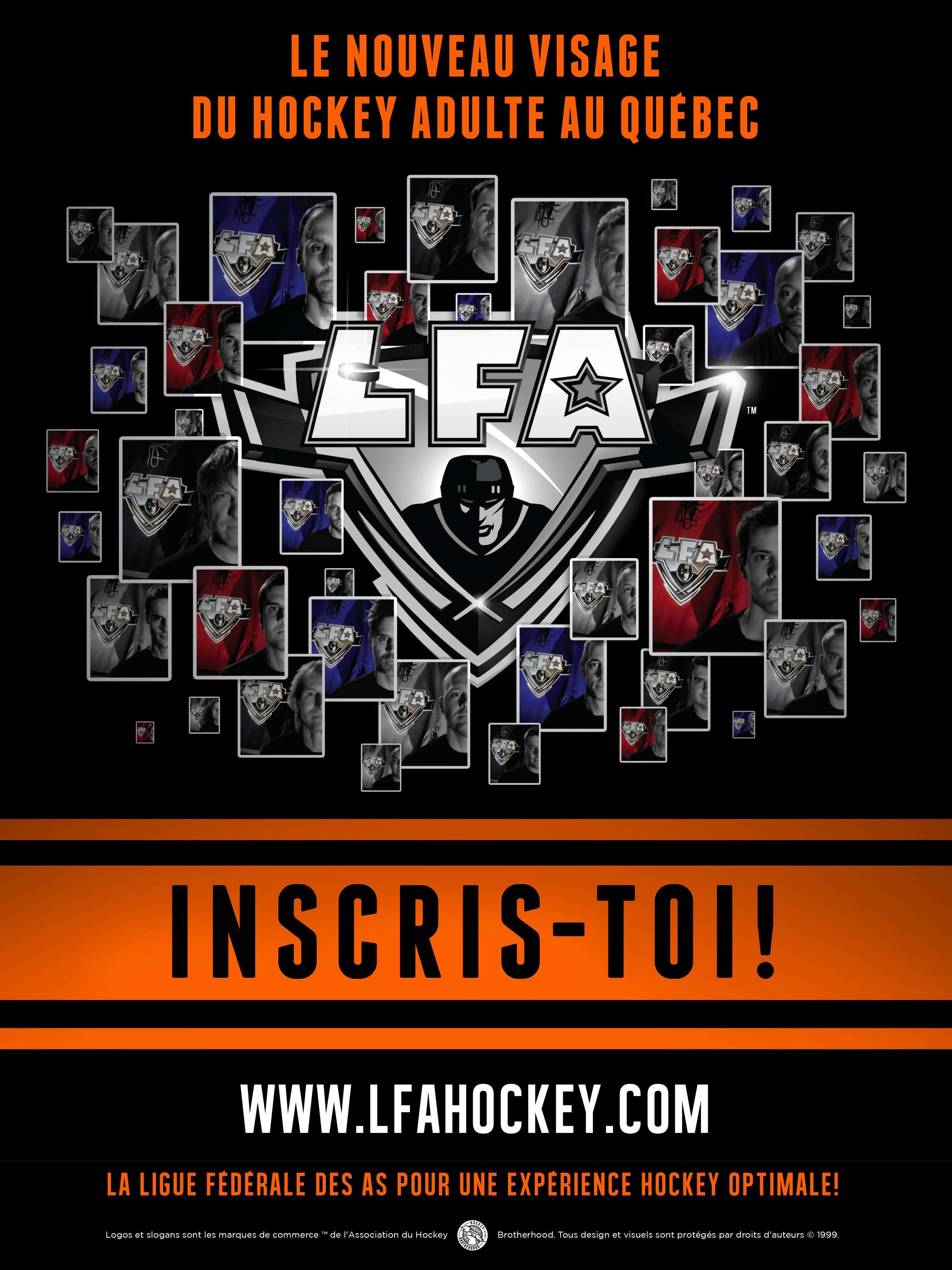 Affiche promotionnelle de la LFA