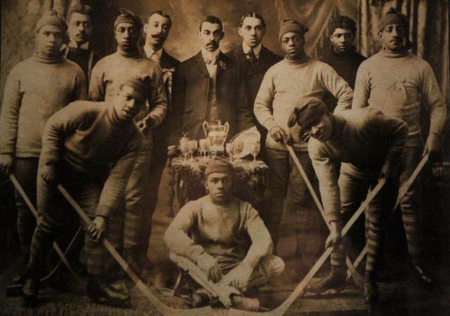 HALIFAX EUREKAS - COLORED HOCKEY LEAGUE CHAMPIONS 1904