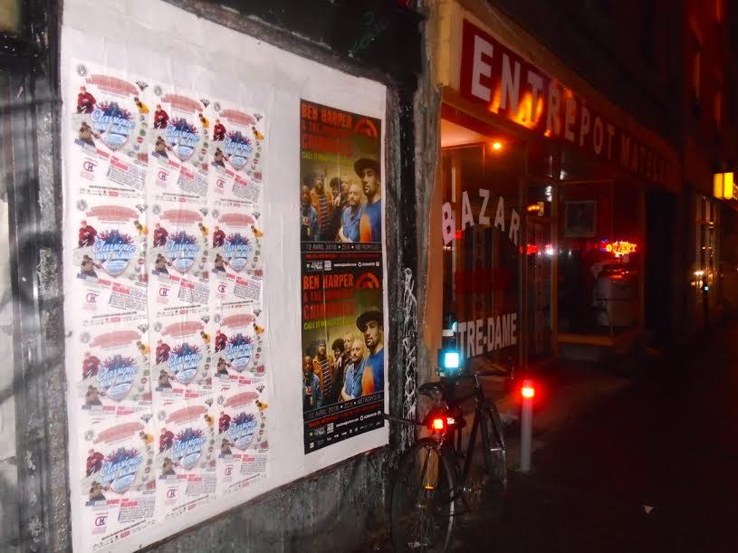 Les affiches de la Classique Hivernale ont fait leur apparition aux quatre coin de la ville cette semaine