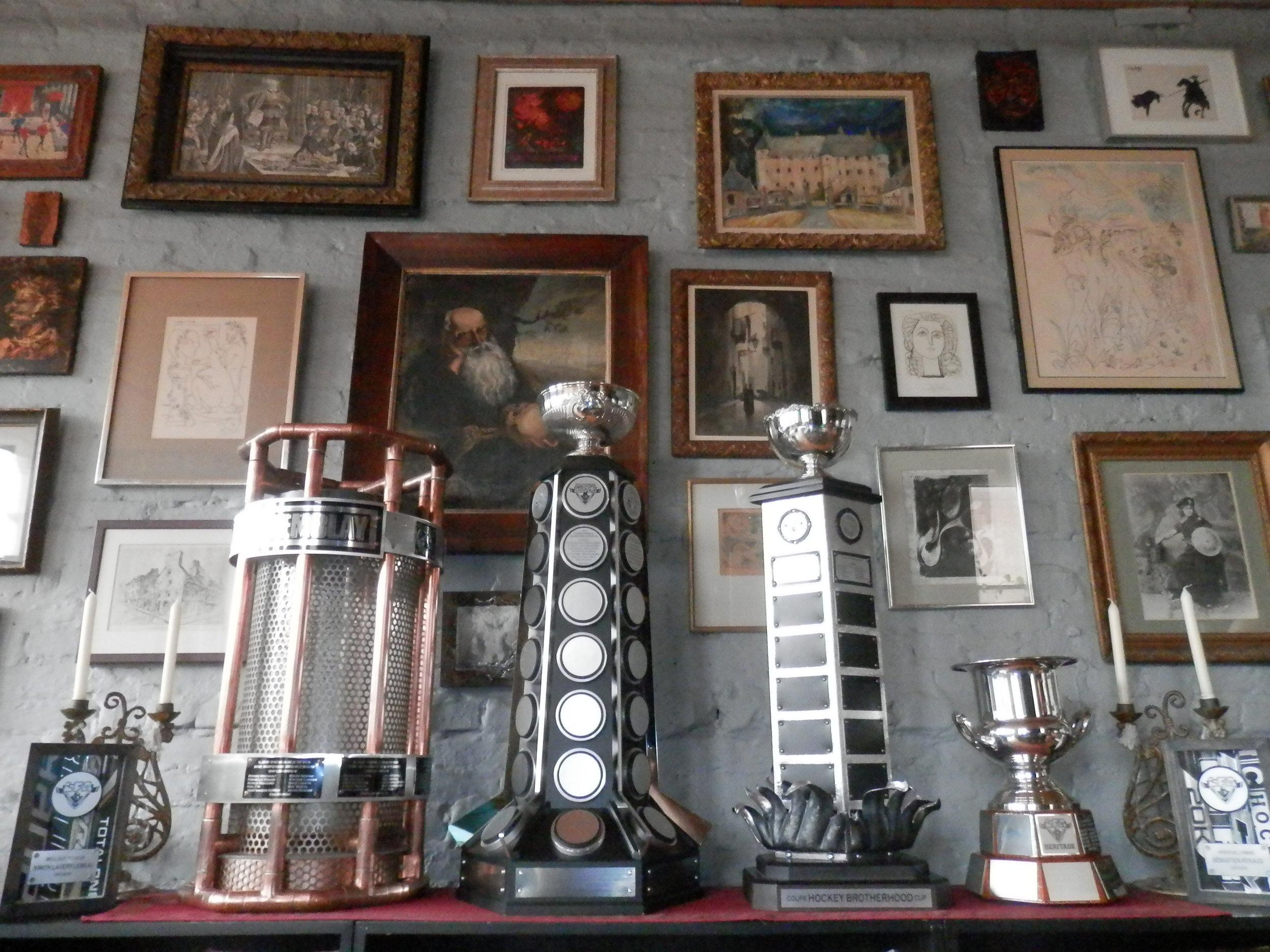 Venez admirer the lfa trophy collection jeudi lors de notre bbq pré-saison (photo jfd)
