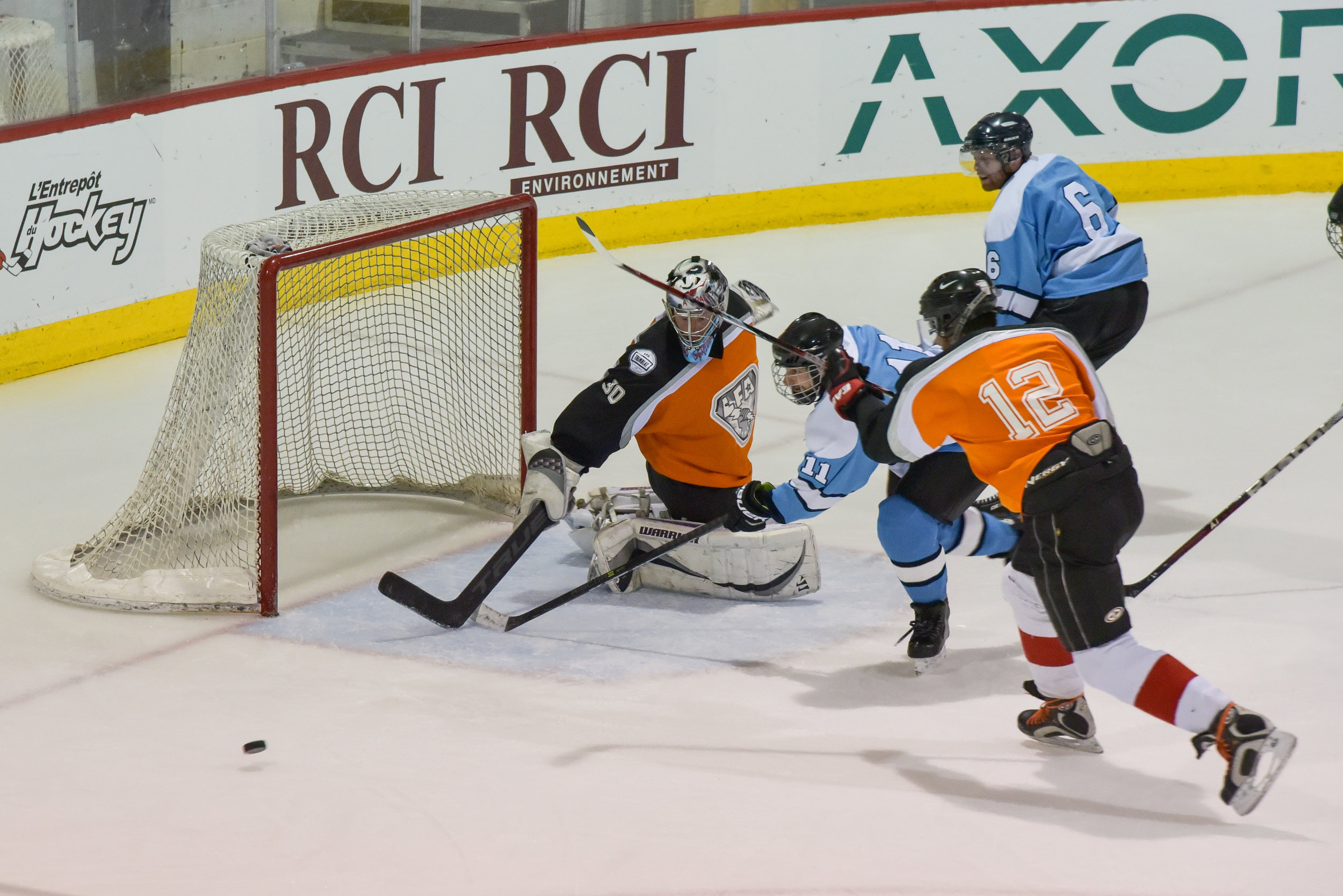 goalies are not the only ones to blame in high scoring games but the league had to make changes between the pipes to ensure two teams would stay in the race (PHOTO MANLI QUE)