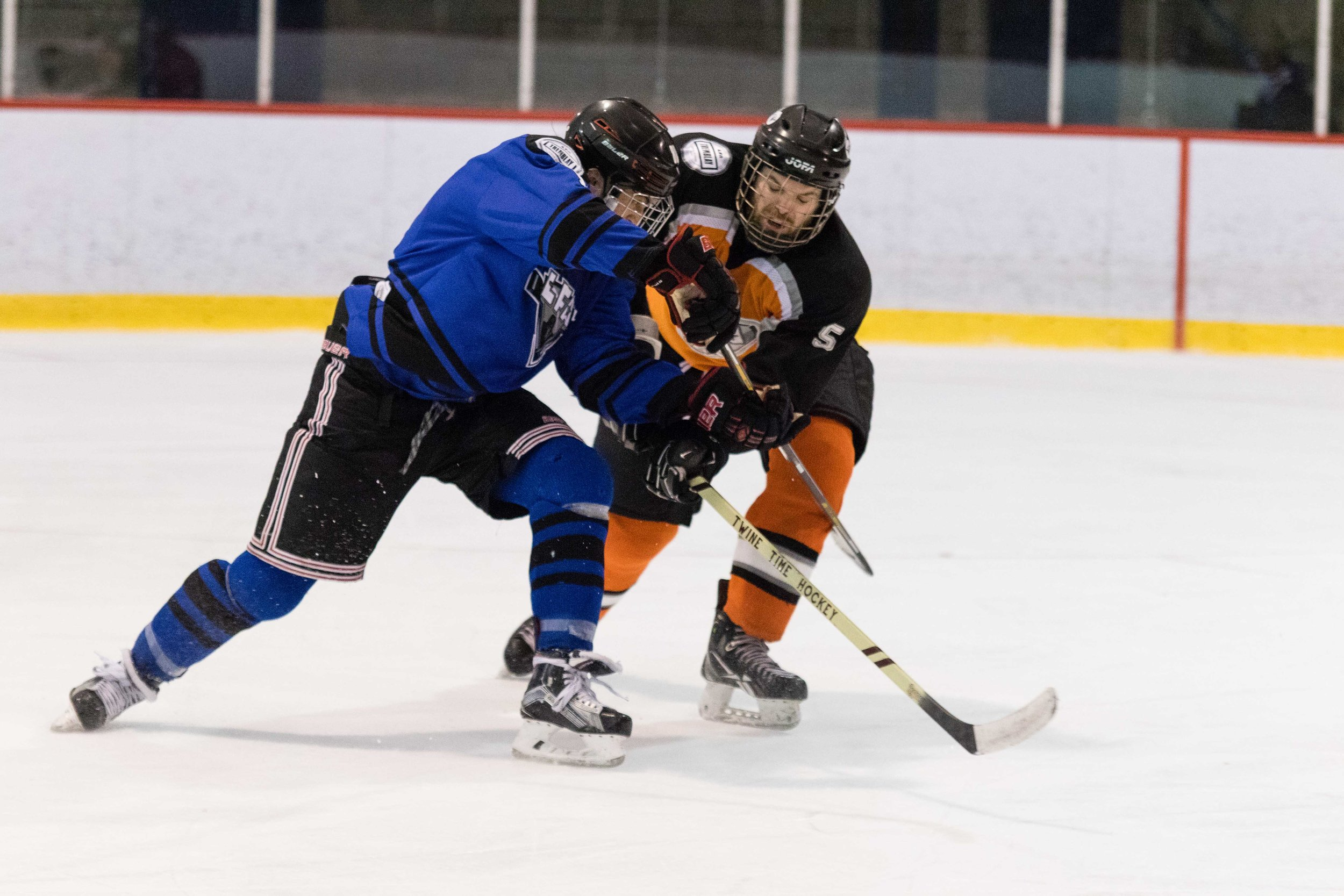 THE AVENGERS WILL FACE THE METEORS DURING THE SEMI FINAL AND CHAMPIONSHIP GAME OF OUR SOUTH SHORE DIVISION MONDAY AT THE BELL COMPLEX IN BROSSARD (ARCHIVE PHOTO)